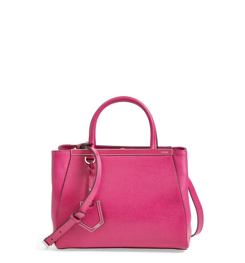 891a49b1f074 Fendi  Petite 2Jours Elite  Leather Shopper - Pink In Magenta