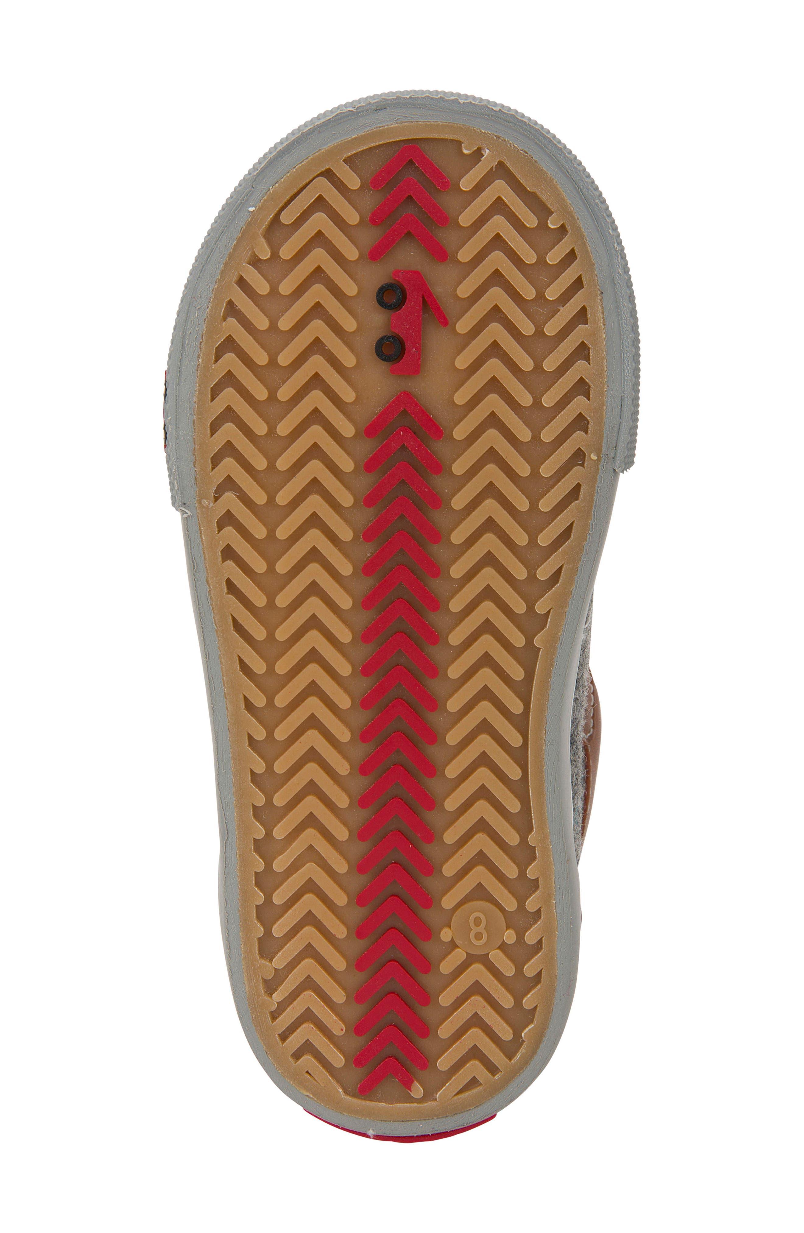 Matty Sneaker,                             Alternate thumbnail 5, color,                             Gray Felt