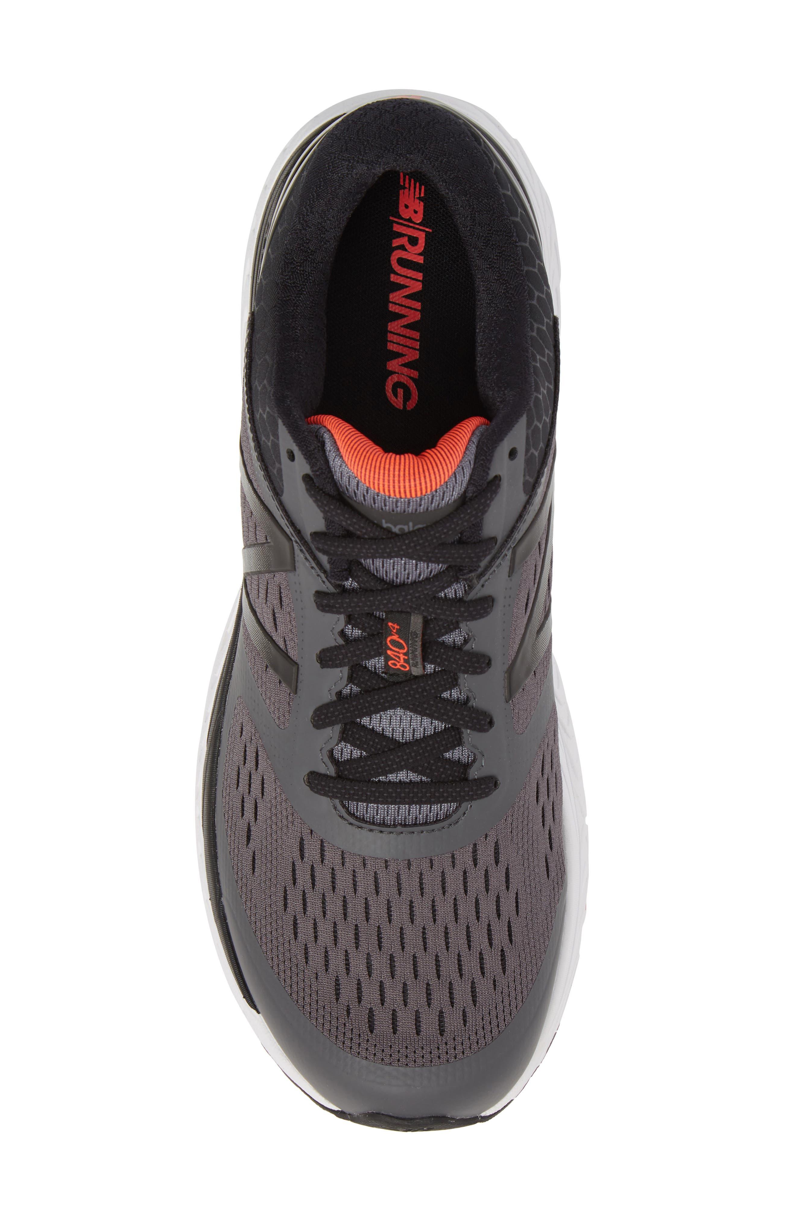 840v4 Running Shoe,                             Alternate thumbnail 5, color,                             Dark Grey