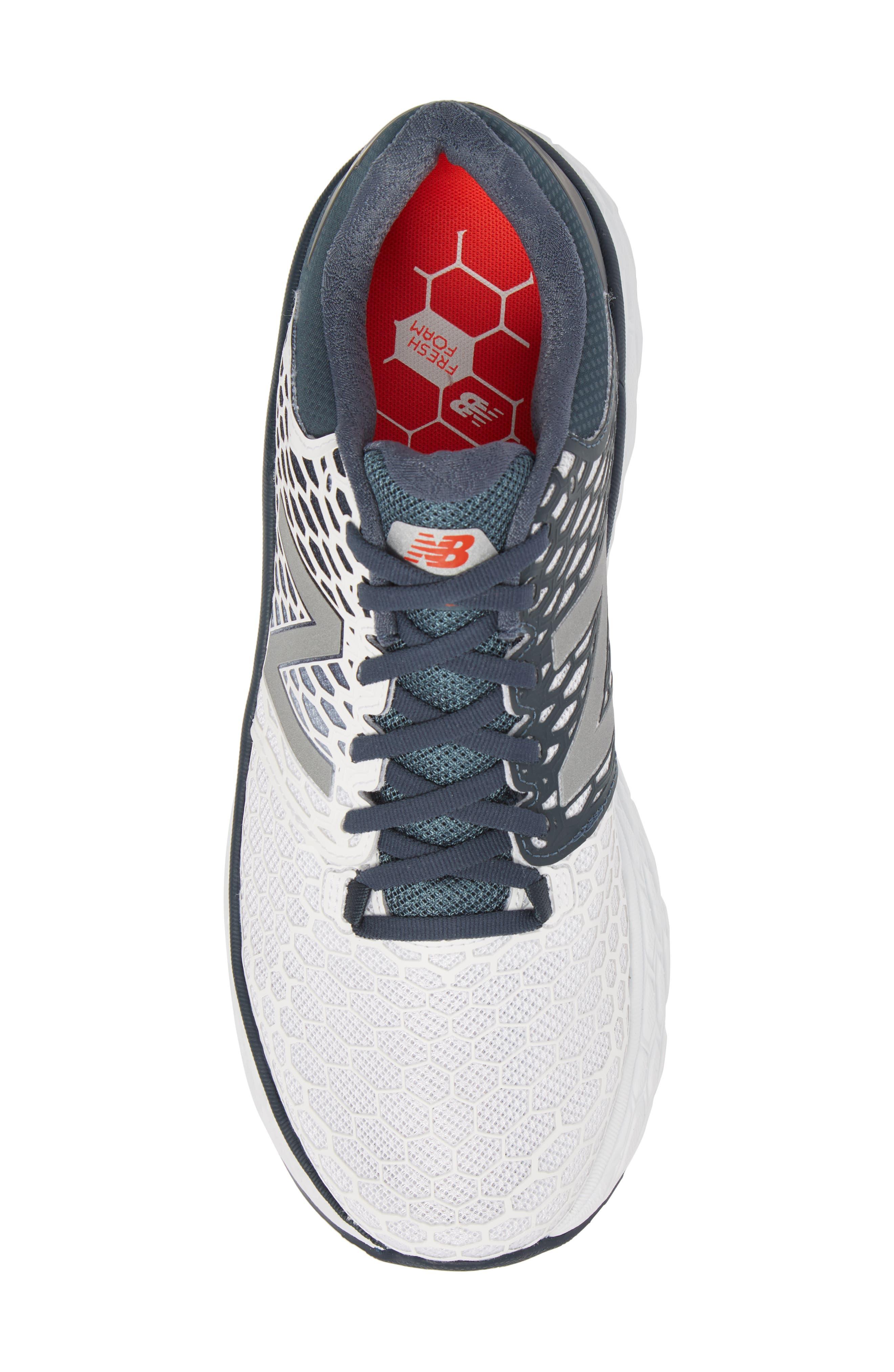 Fresh Foam Vongo v3 Running Shoe,                             Alternate thumbnail 4, color,                             White