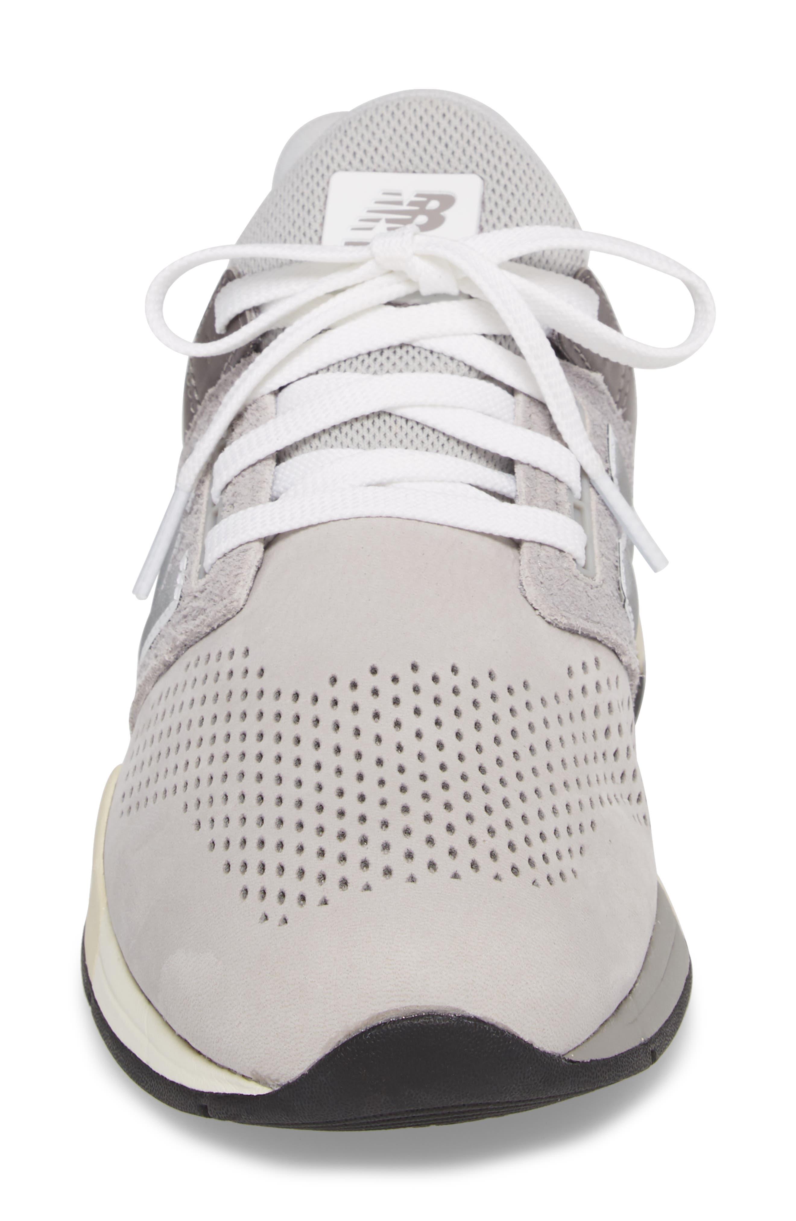 247 v2 Sneaker,                             Alternate thumbnail 5, color,                             Rain Cloud Leather