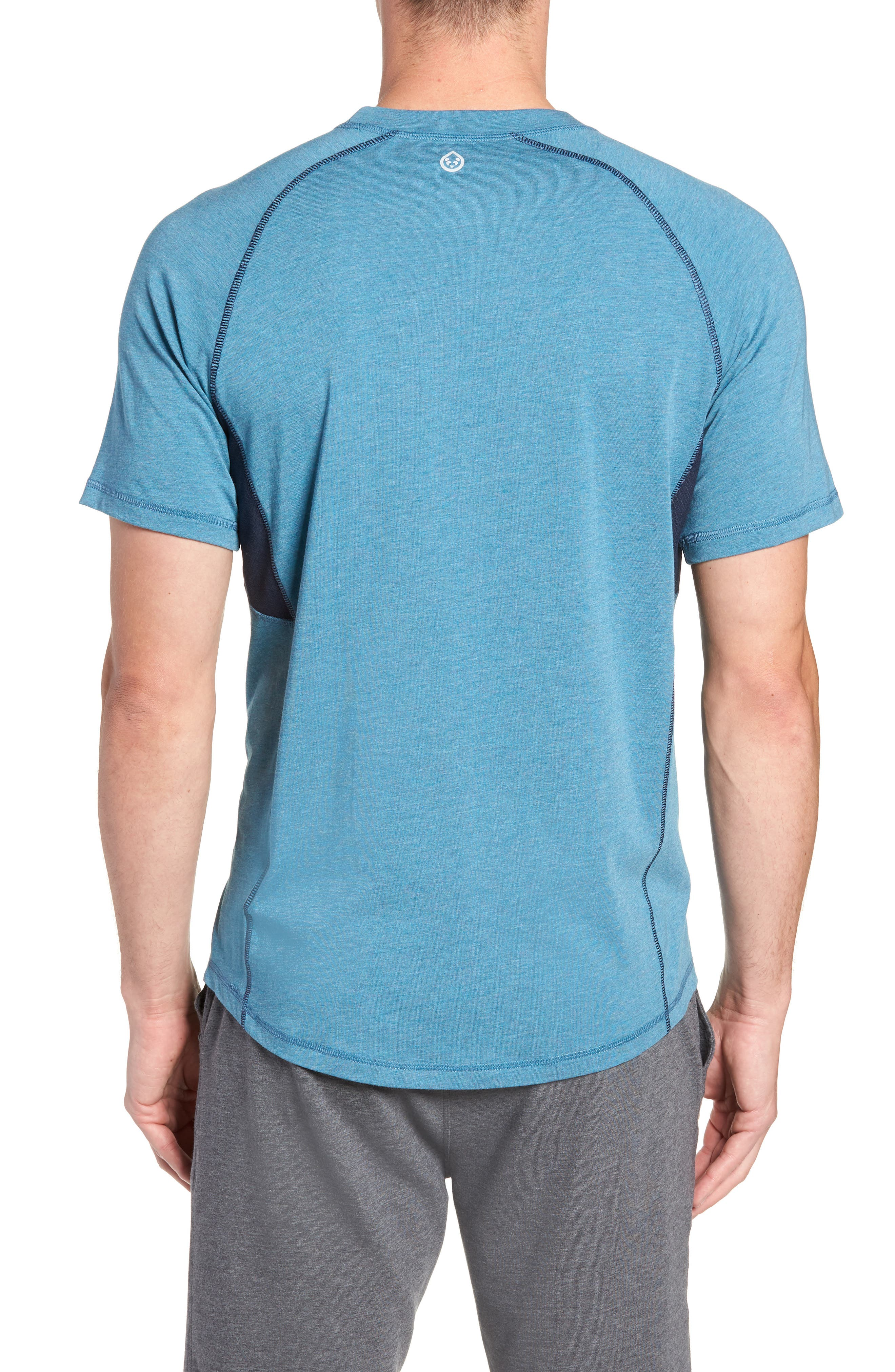 Charge II T-Shirt,                             Alternate thumbnail 2, color,                             Tranquility Sea Heather