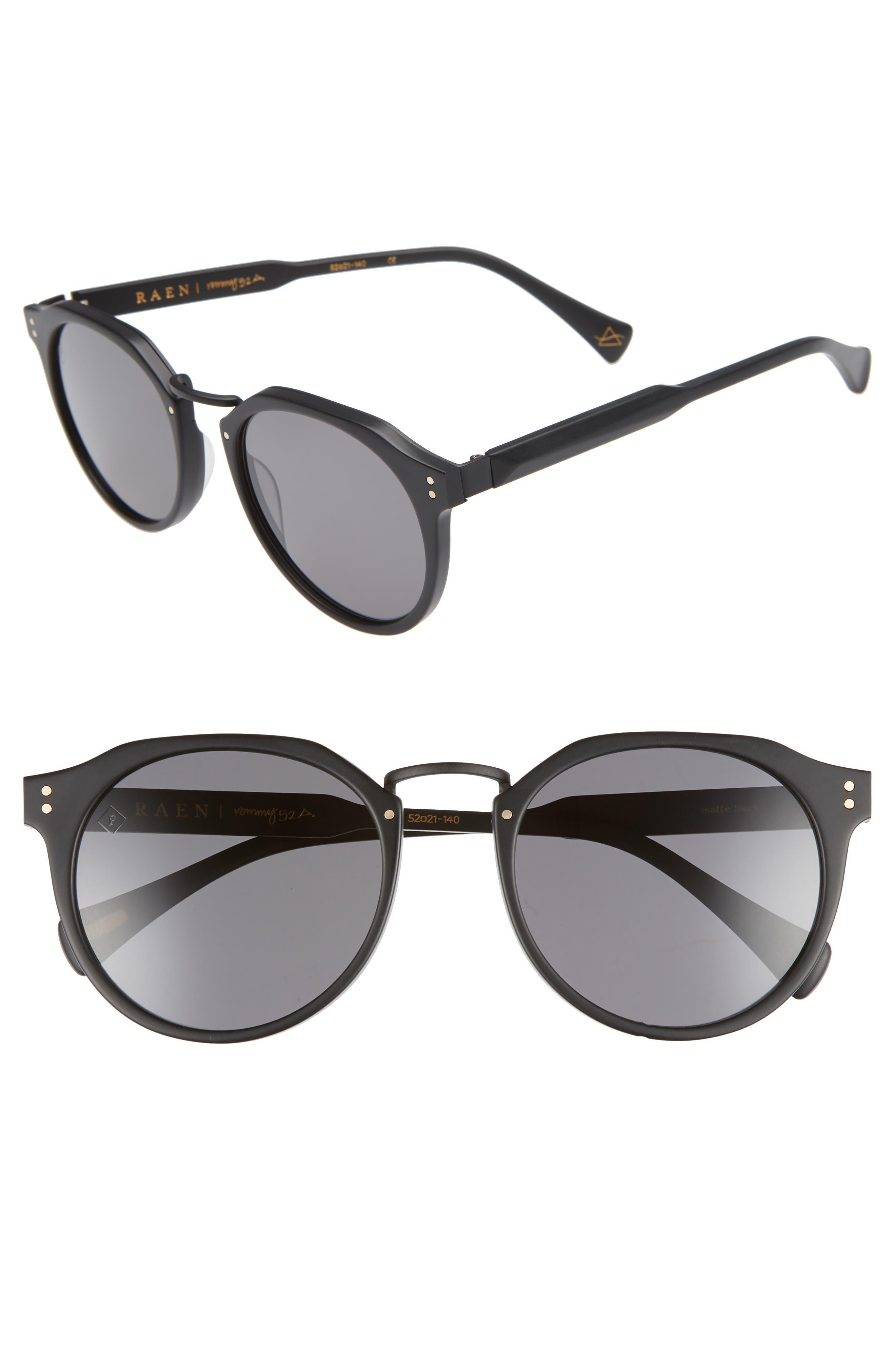 Remmy 52mm Sunglasses,                             Main thumbnail 1, color,                             Kola Tortoise