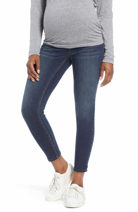 On Sale 1822 Denim Ankle Skinny Maternity Jeans (Giovanna)