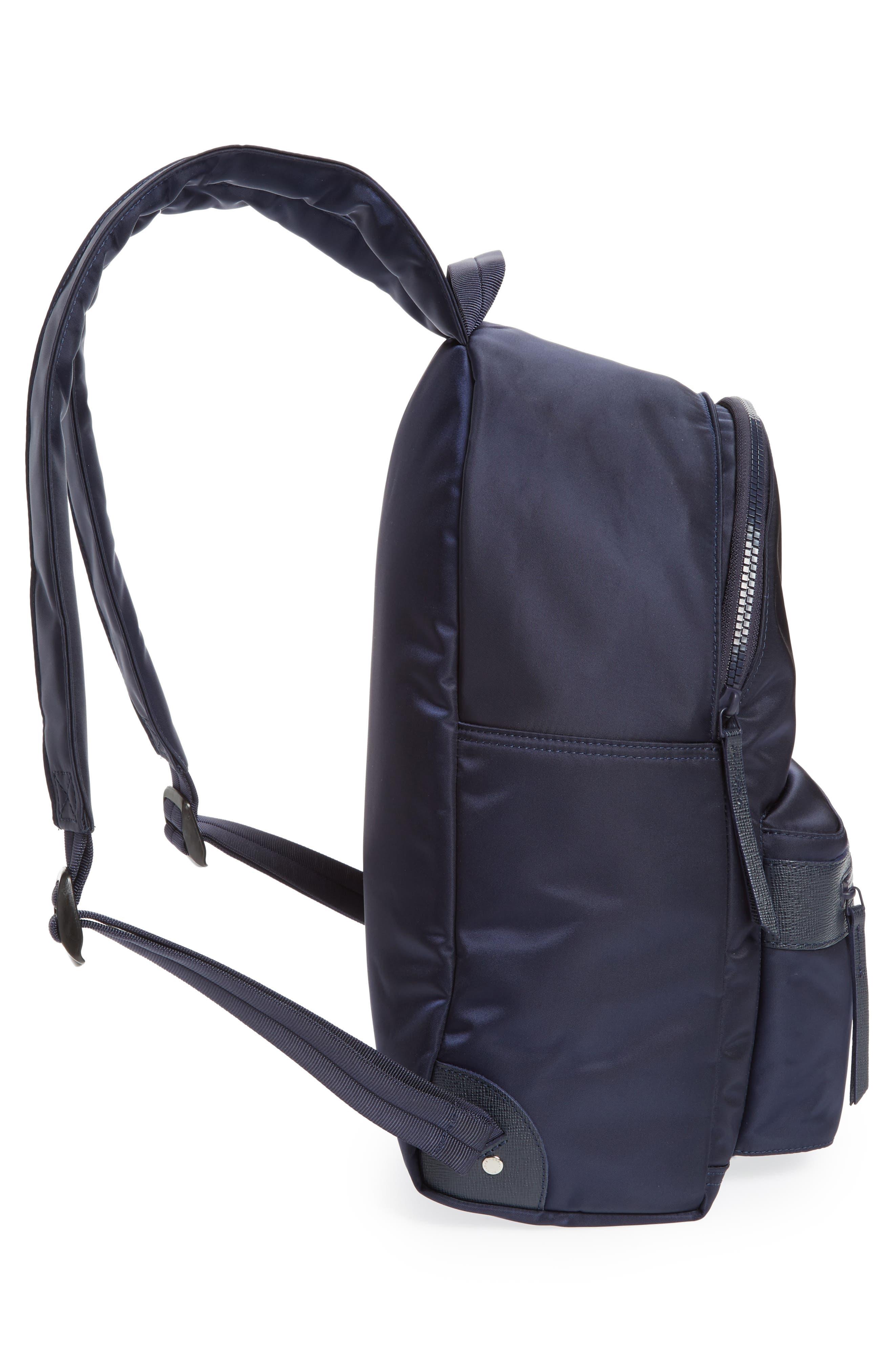 'Le Pliage Neo' Nylon Backpack,                             Alternate thumbnail 4, color,                             Navy Blue