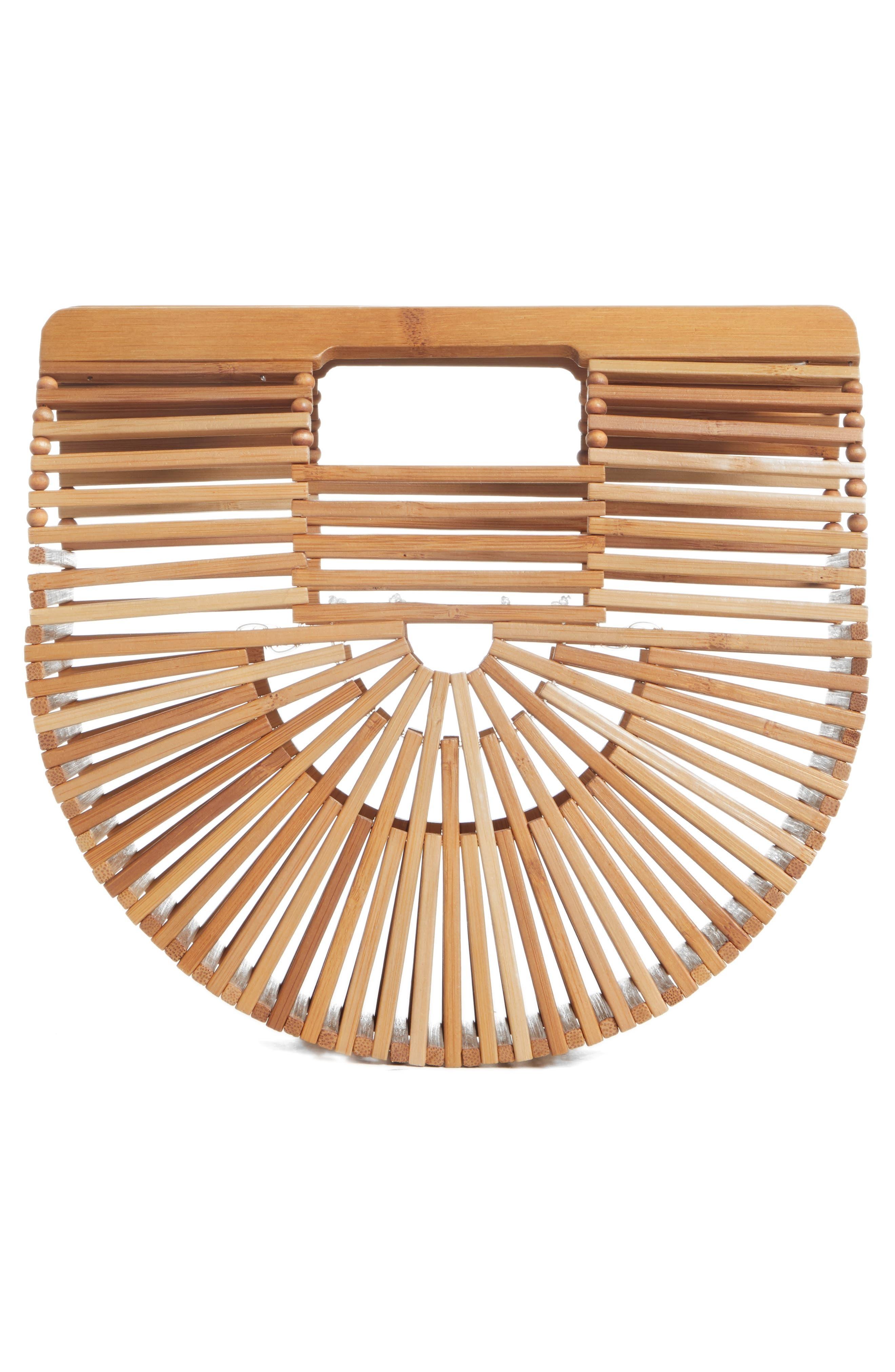 Mini Ark Handbag,                             Alternate thumbnail 2, color,                             Chestnut