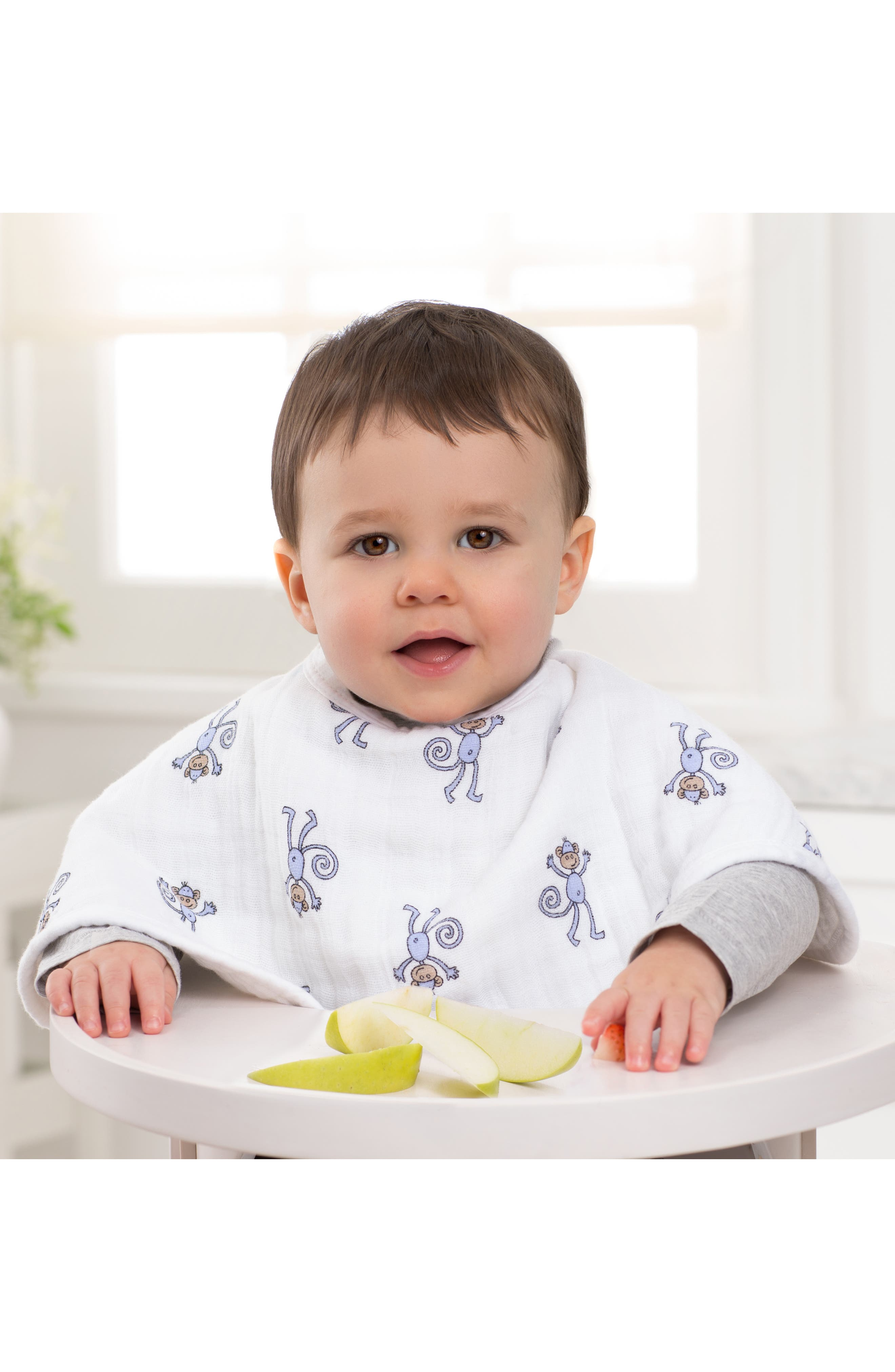 2-Pack Classic Burpy Bibs,                             Alternate thumbnail 4, color,                             Jungle Jam