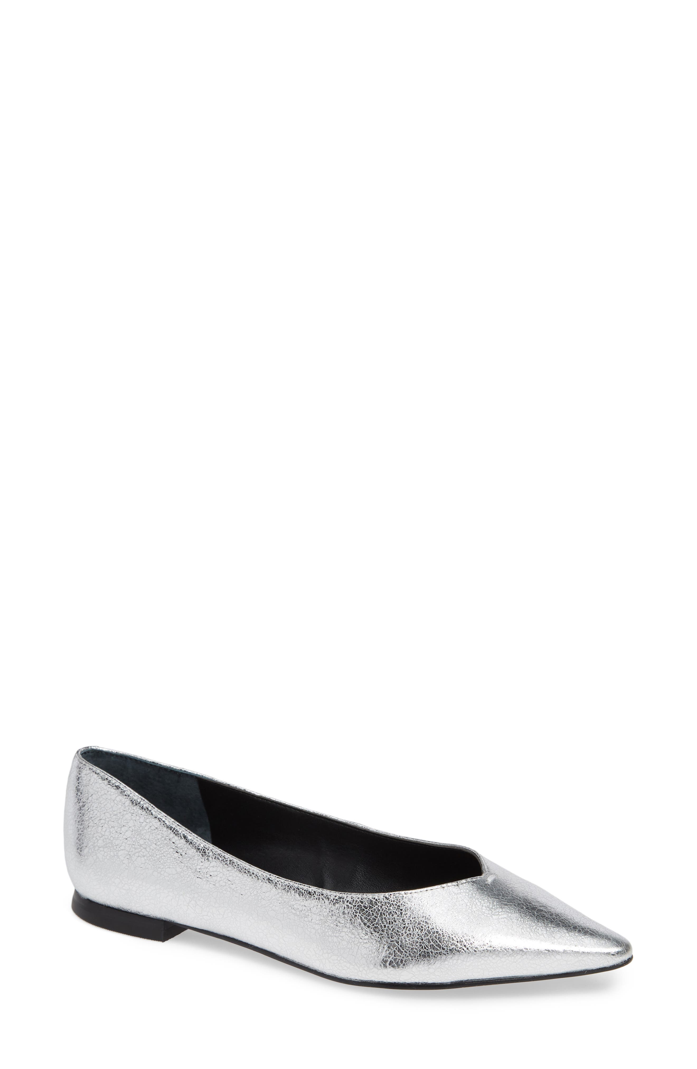 MARC FISHER Women's Saco Pointy Toe Flat Oes9FOhpG