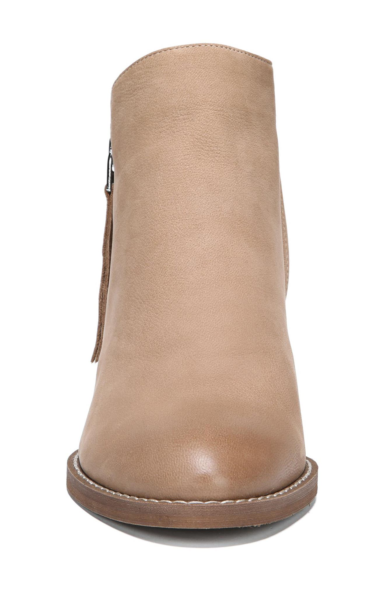 Macon Bootie,                             Alternate thumbnail 4, color,                             Golden Caramel Nubuck Leather