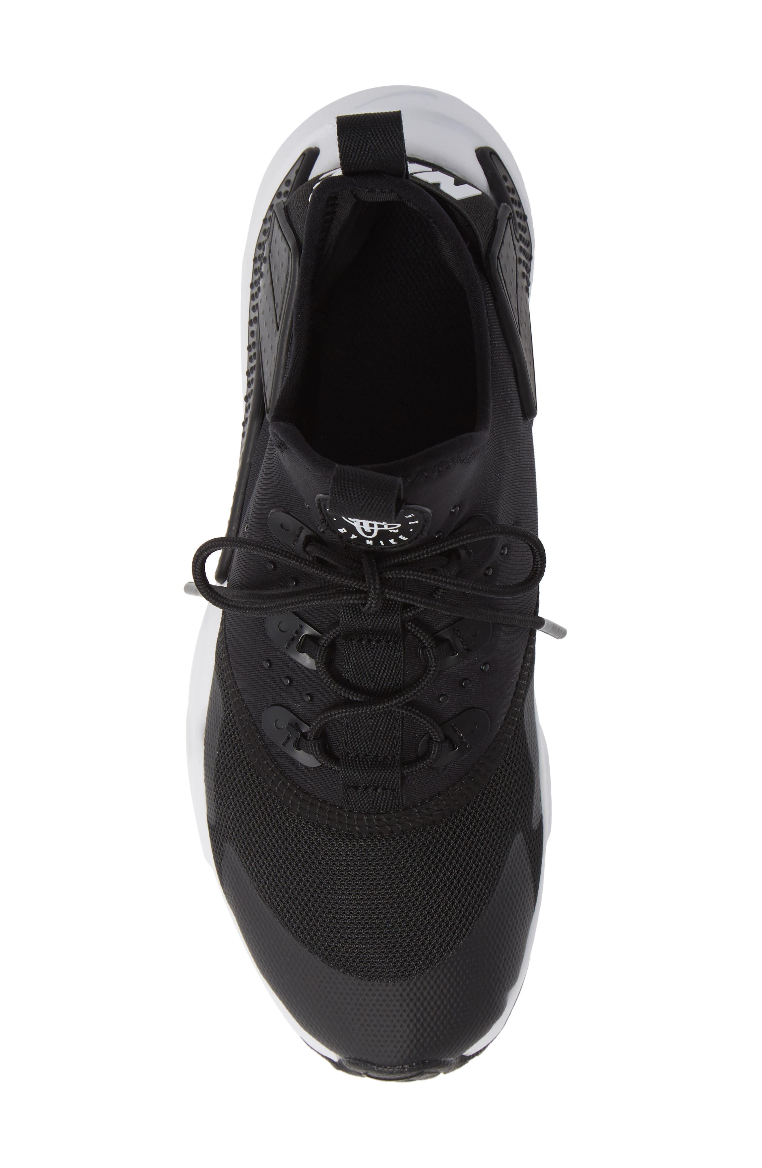 Huarache Run Drift Sneaker,                             Alternate thumbnail 8, color,                             Black/ Anthracite
