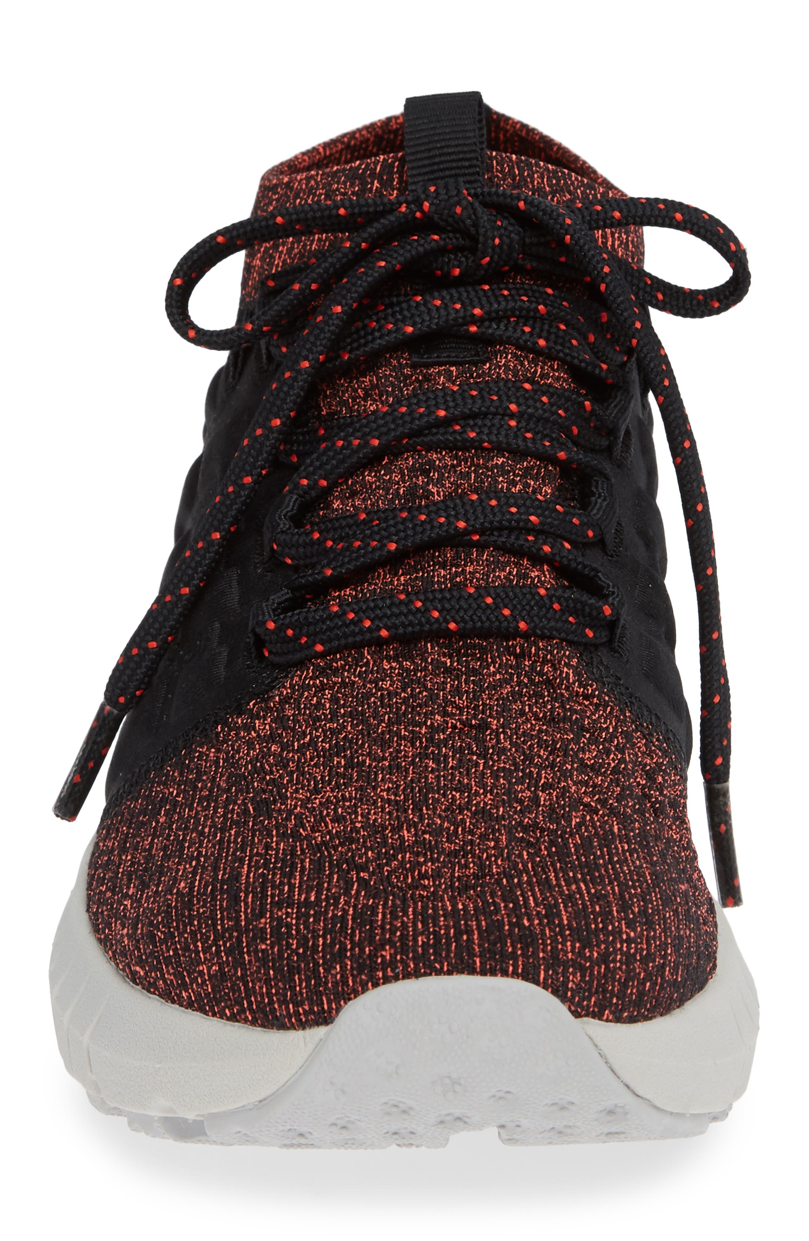 HOVR Phantom NC Sneaker,                             Alternate thumbnail 6, color,                             Black/ Ghost Grey/ Radio Red