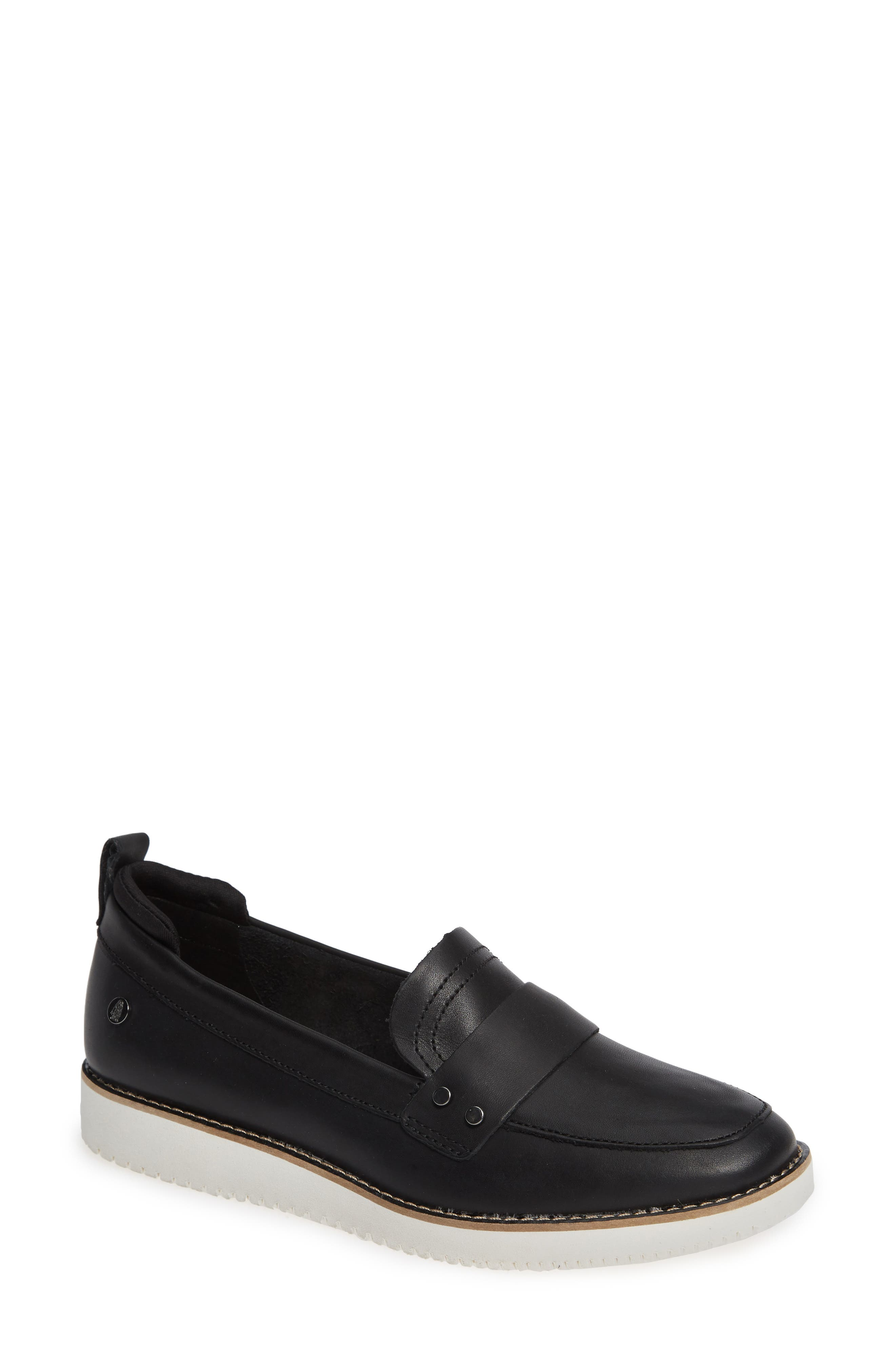 Chowchow Loafer,                             Main thumbnail 1, color,                             Black Leather
