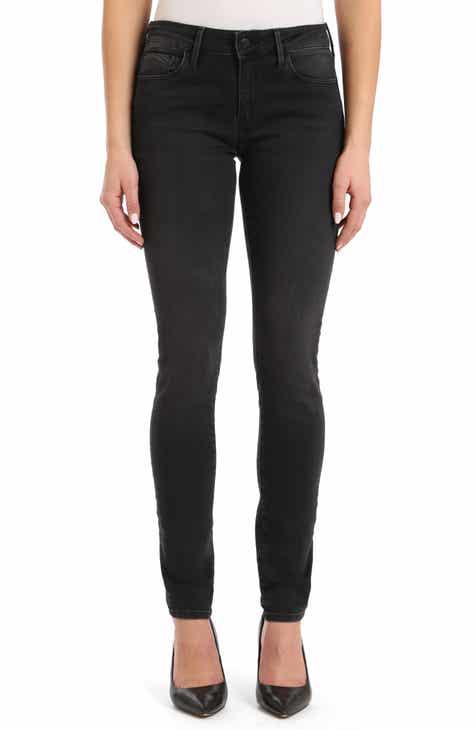 Mavi Jeans Adriana Stretch Super Skinny Jeans (Tribeca)