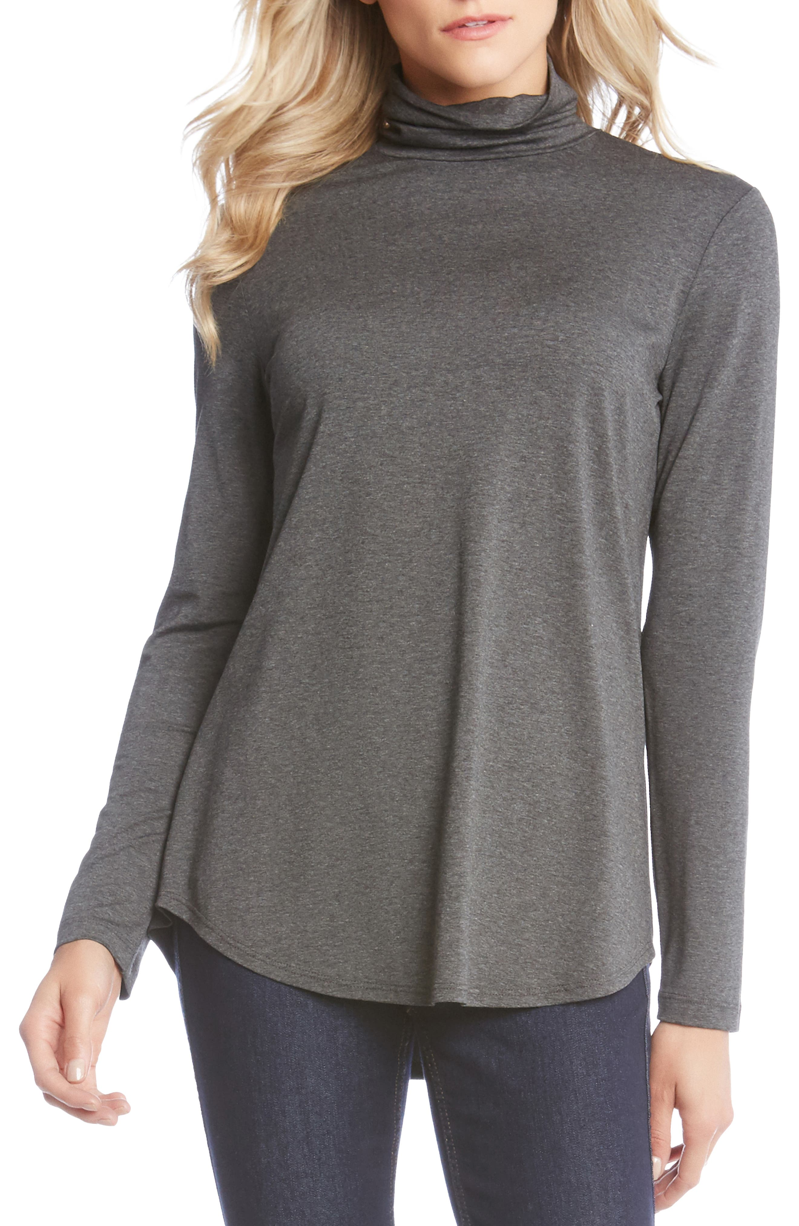TURTLENECK SWING TOP