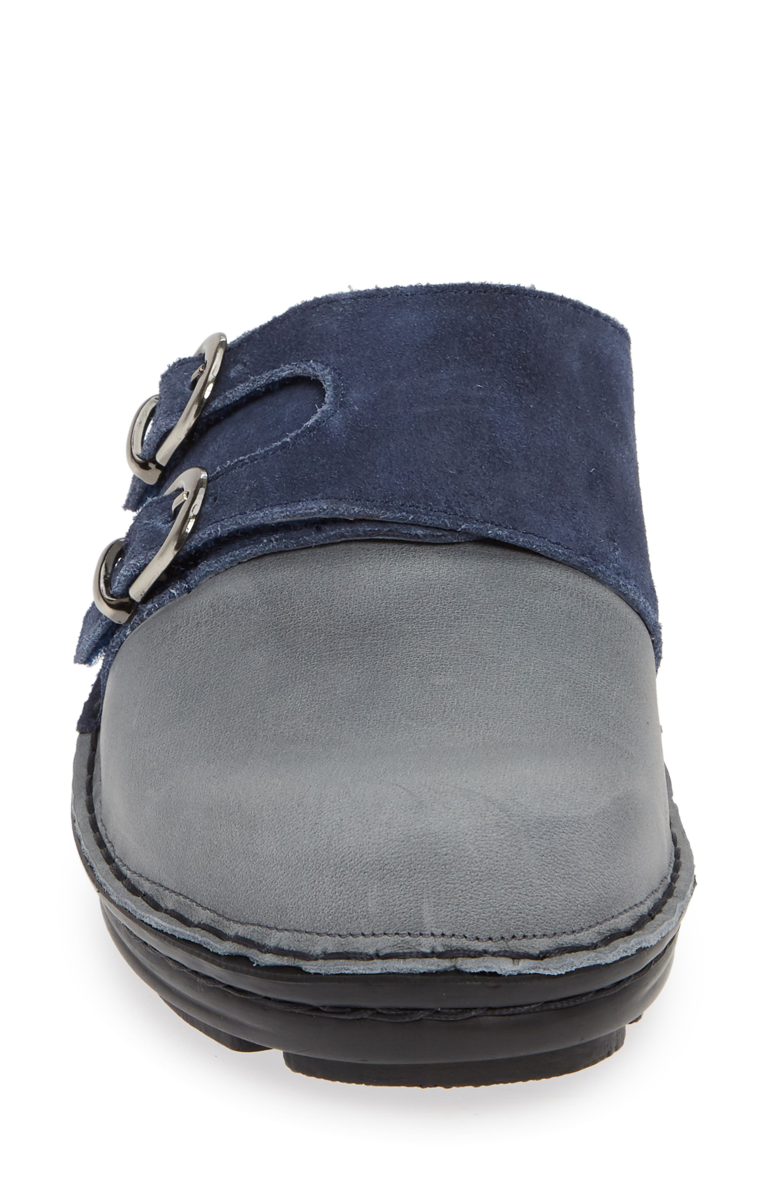 Leilani Clog,                             Alternate thumbnail 5, color,                             Vintage Slate Leather