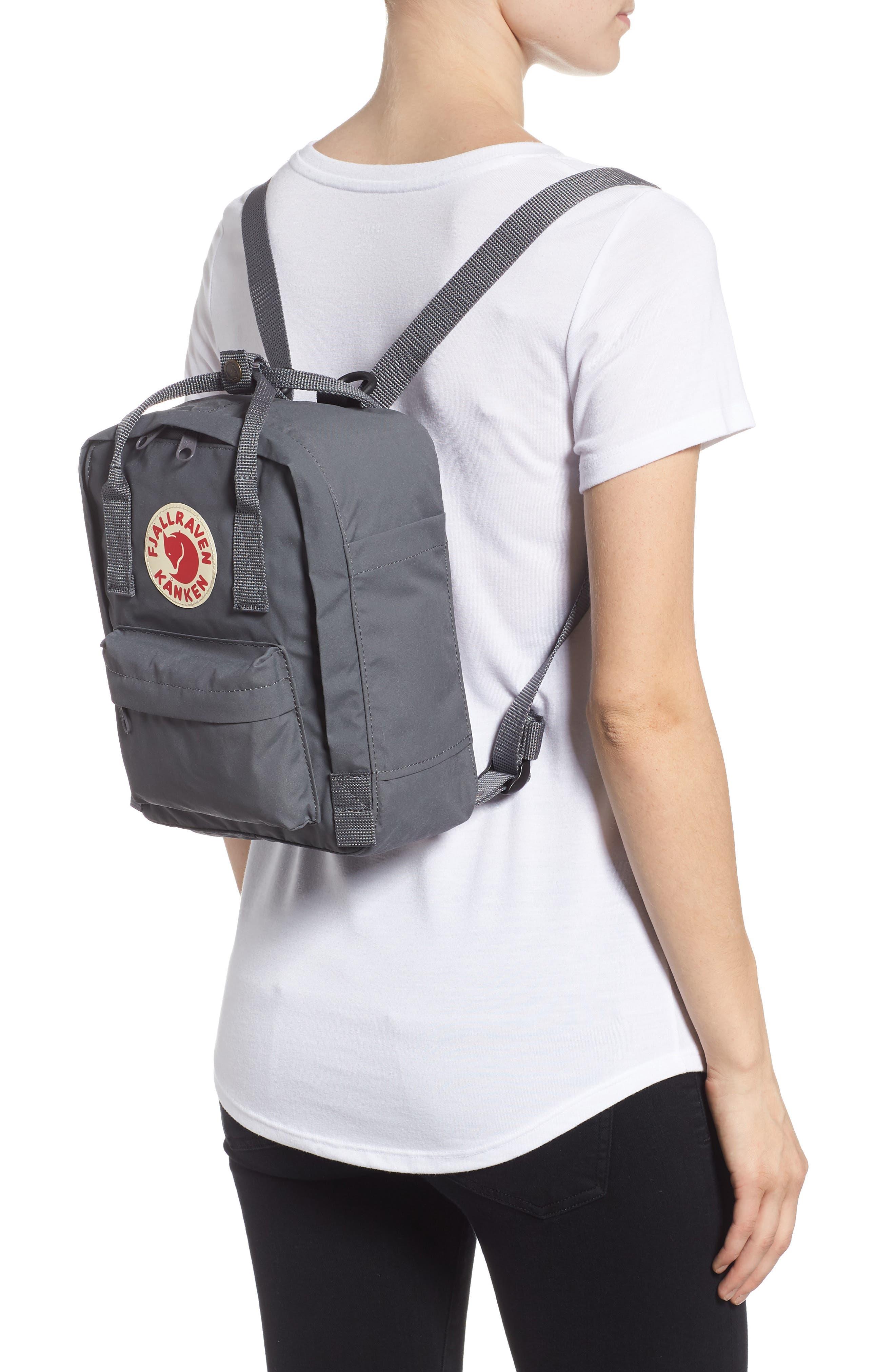'Mini Kånken' Water Resistant Backpack,                             Alternate thumbnail 2, color,                             Super Grey