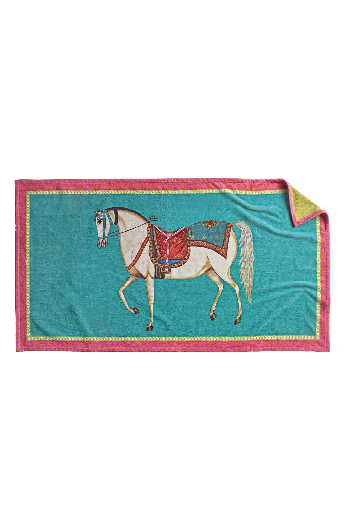 Alternate Image 1 Selected - John Robshaw 'Horse' Beach Towel