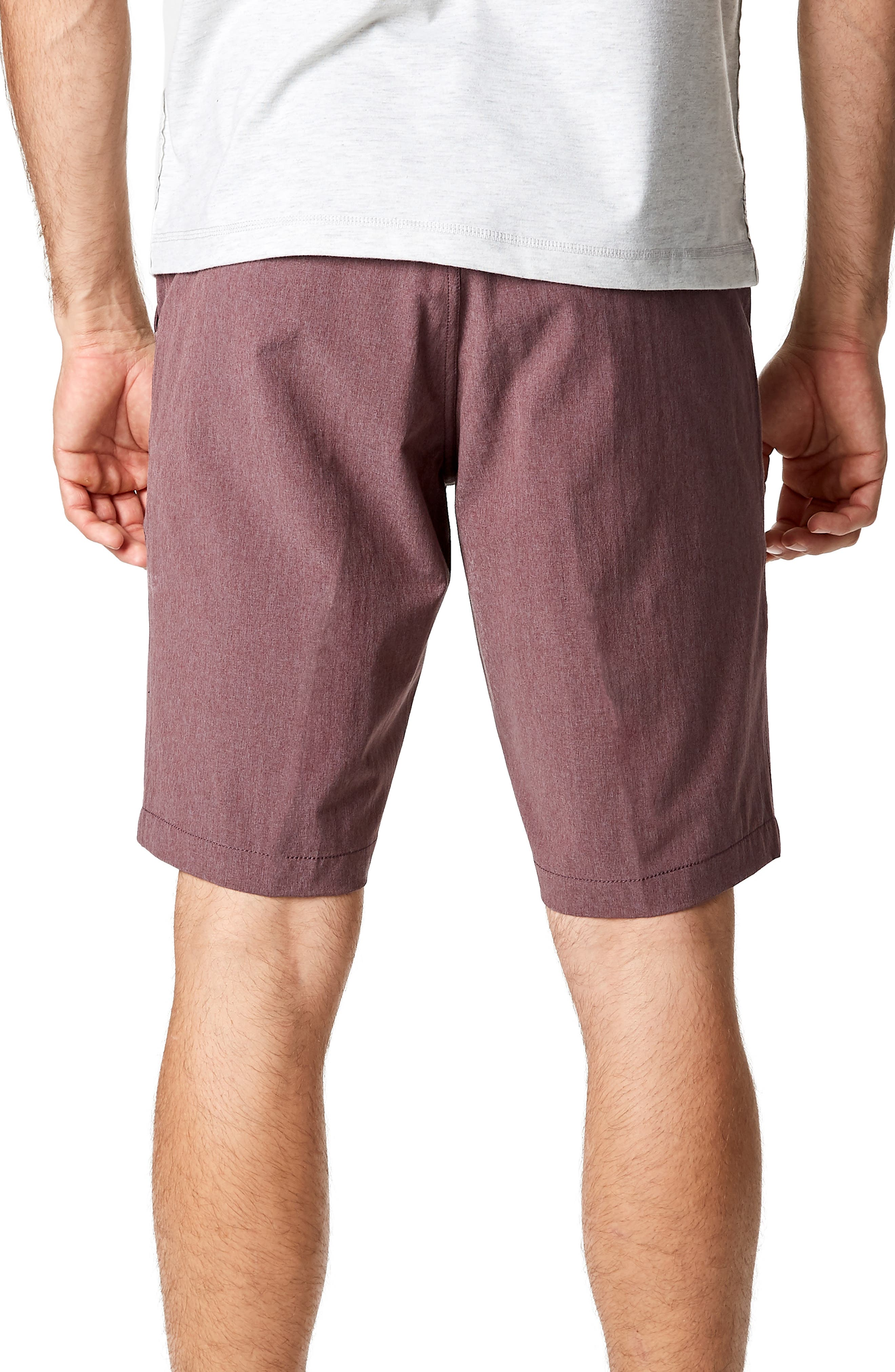 Adrenaline Stretch Shorts,                             Alternate thumbnail 2, color,                             Berry