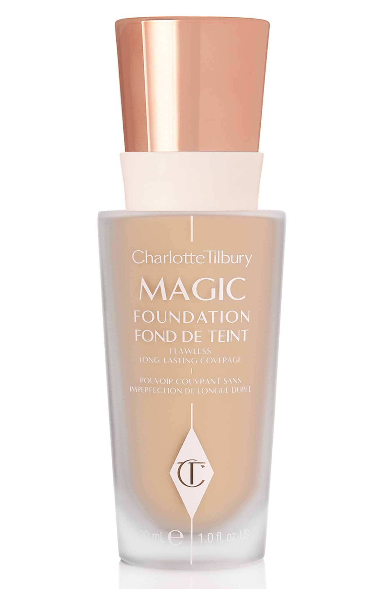 CHARLOTTE TILBURY MAGIC FOUNDATION BROAD SPECTRUM SPF 15 - 6 MEDIUM