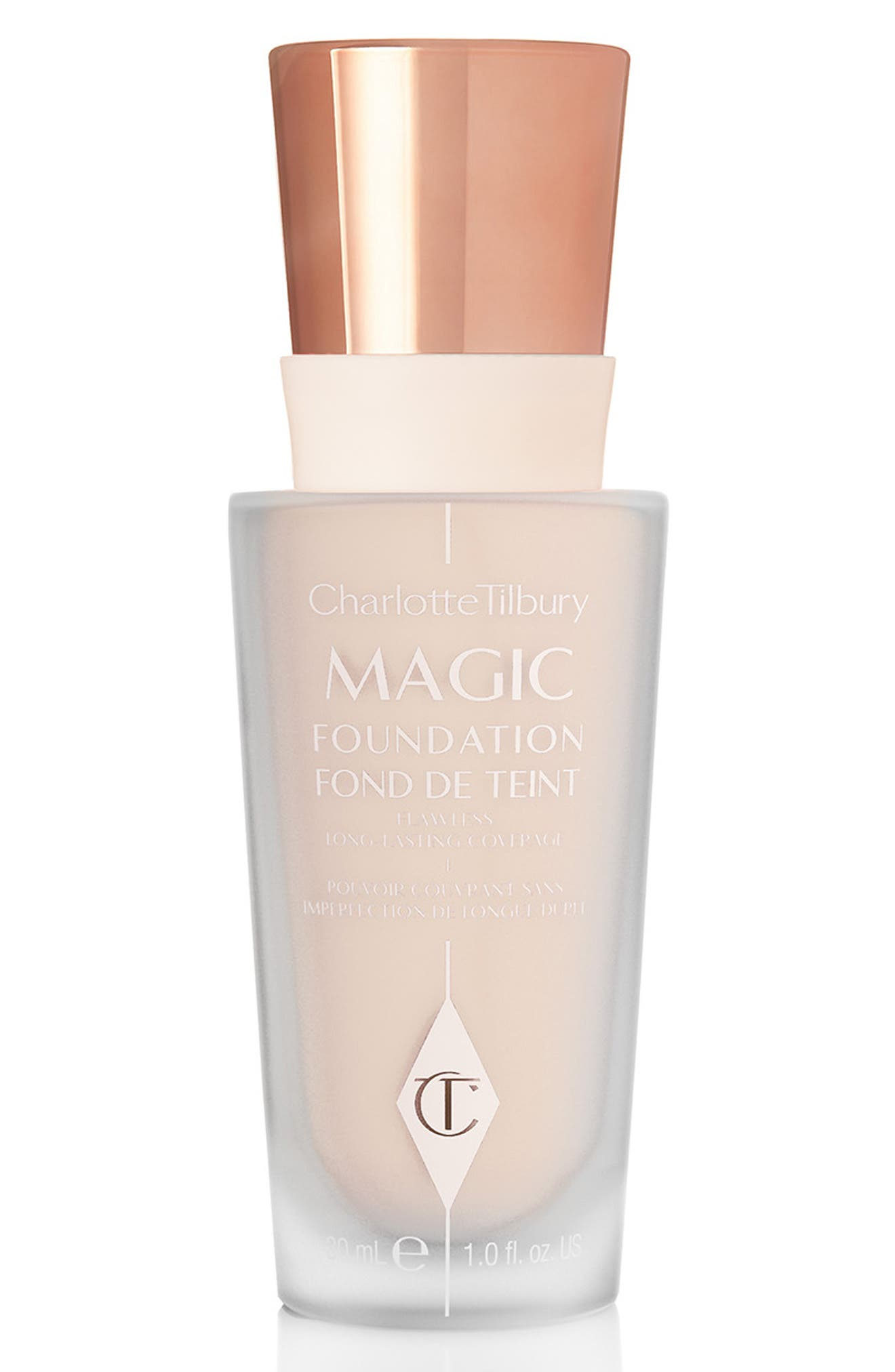 CHARLOTTE TILBURY MAGIC FOUNDATION BROAD SPECTRUM SPF 15 - 2 FAIR