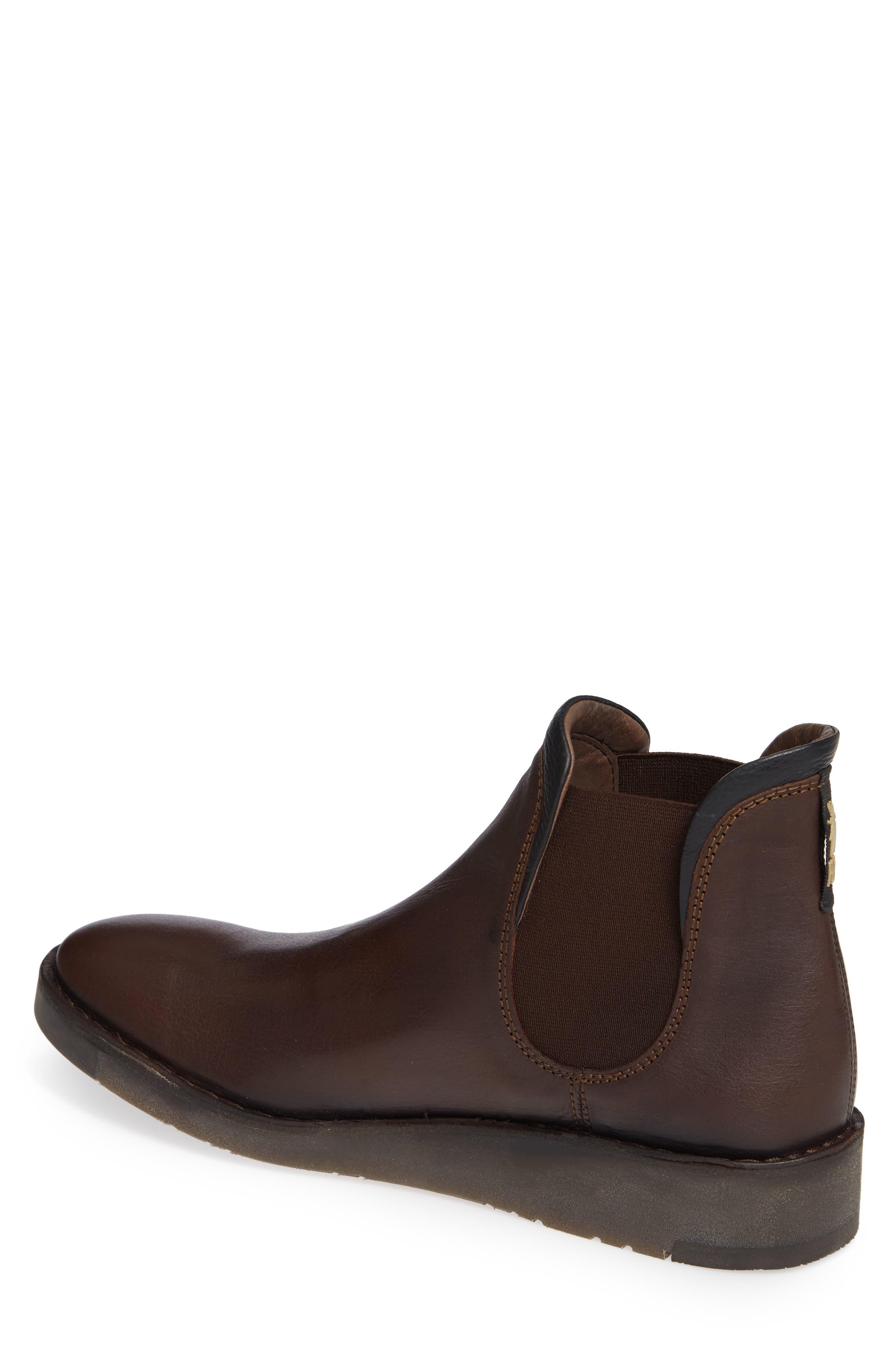 Sern Water Resistant Chelsea Boot,                             Alternate thumbnail 2, color,                             Brown Apso