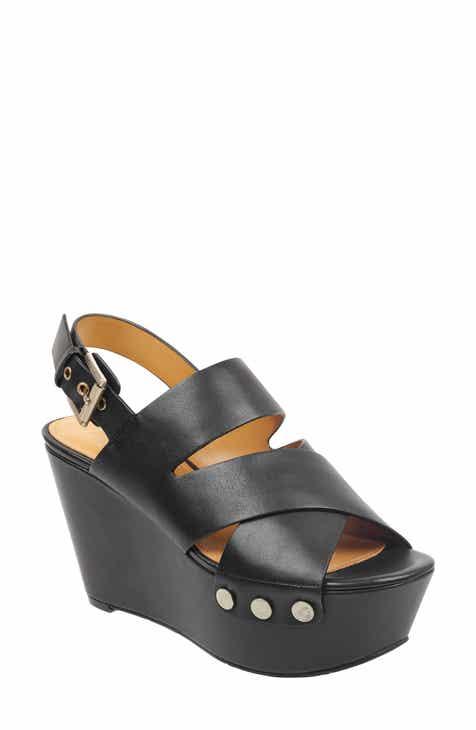 Marc Fisher LTD Bianka Platform Wedge Sandal (Women) df71dfd13088