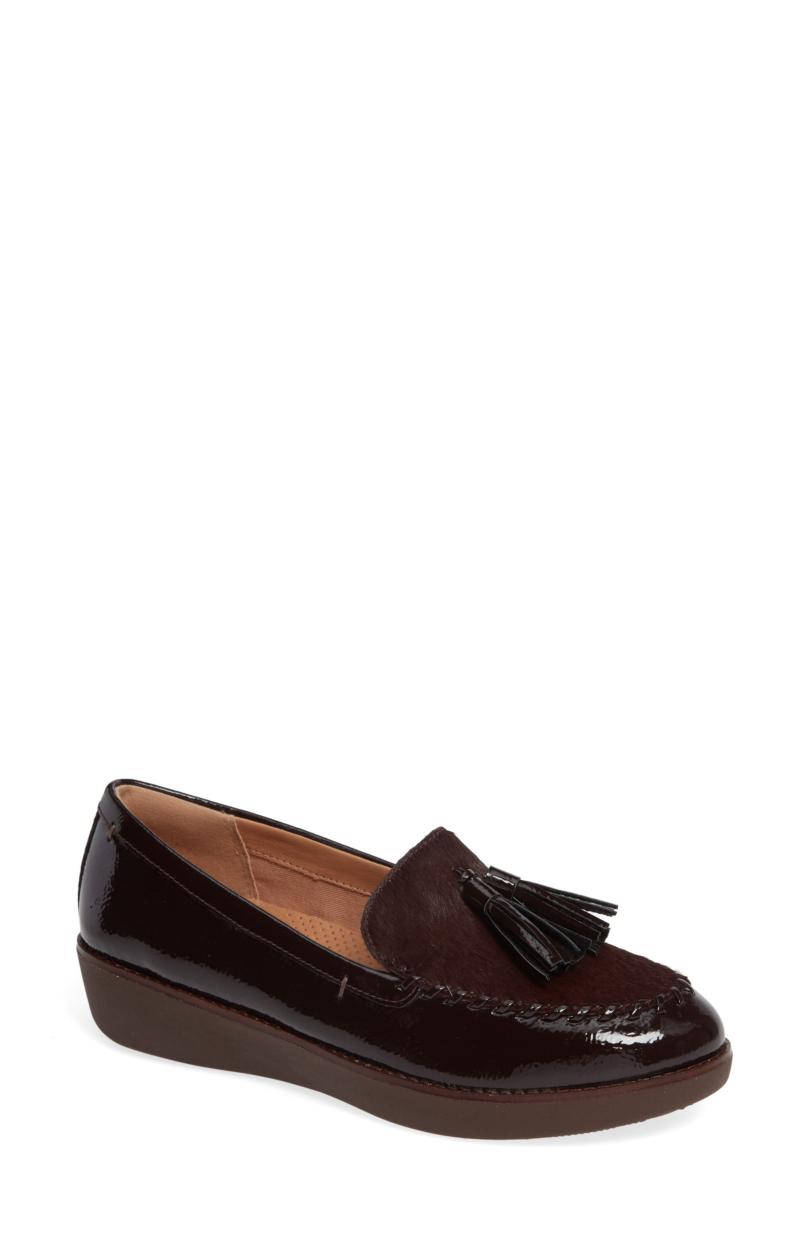PAIGE GENUINE CALF HAIR LOAFER