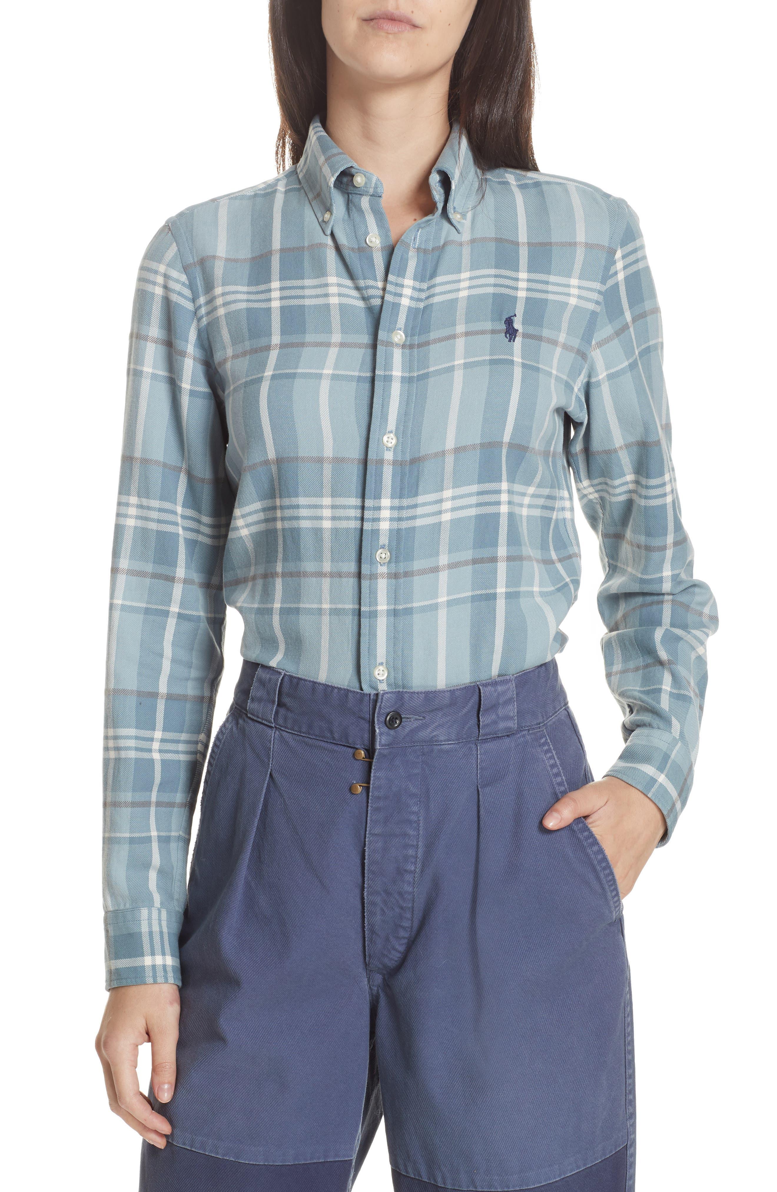 9e4d069079 ... coupon for polo ralph lauren logo plaid shirt c2c1a 65ad4