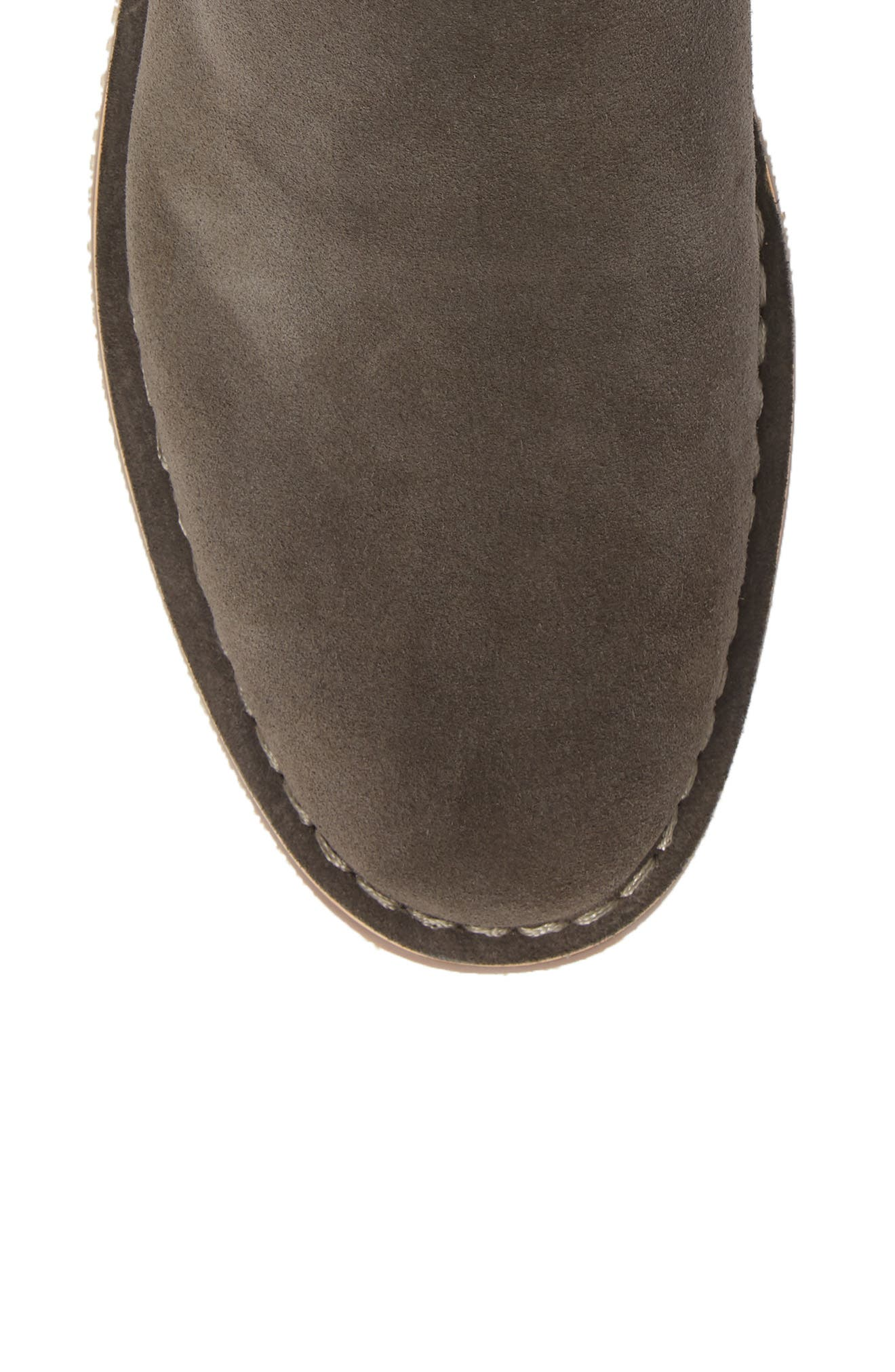 Mesa Chelsea Boot,                             Alternate thumbnail 3, color,                             Charcoal Suede