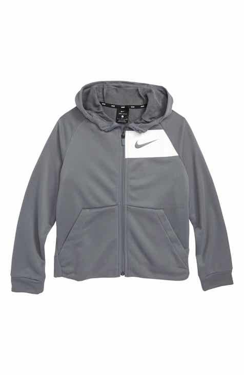 Nike Dry Full Zip Hoodie (Little Boys   Big Boys) c65fcfdea48