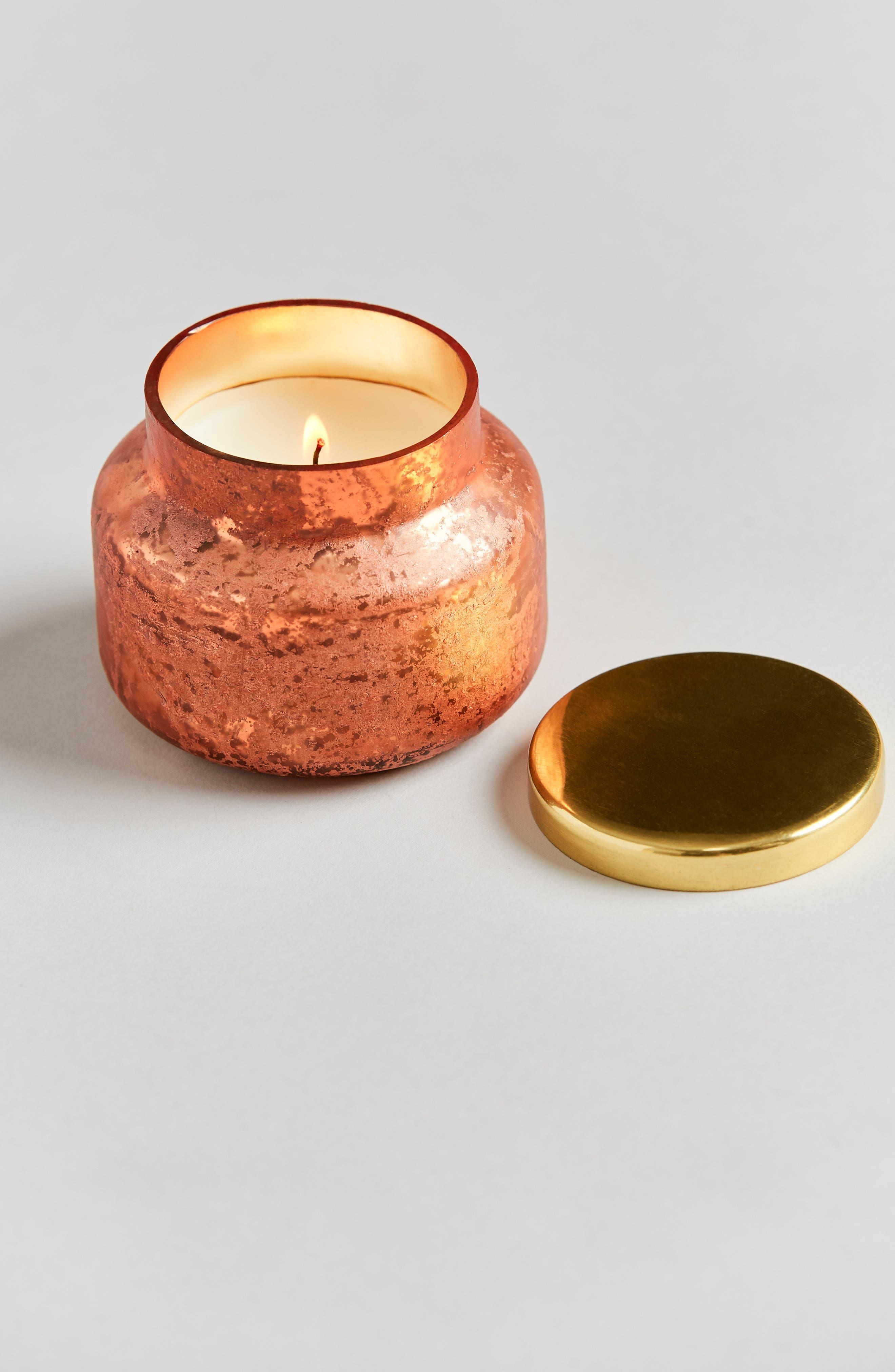Capri Blue Mini Scented Jar Candle,                         Main,                         color, Pumpkin