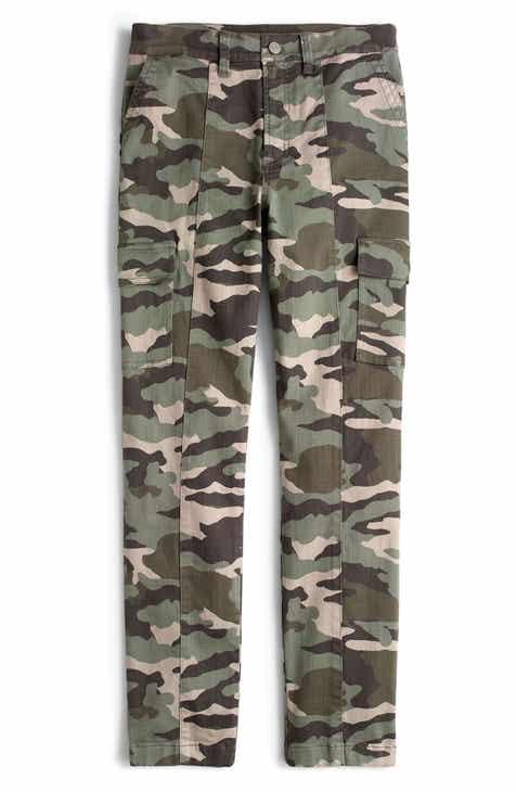 725e25e5b7b18 J.Crew Camo Straight Leg Cargo Pants (Regular   Petite)