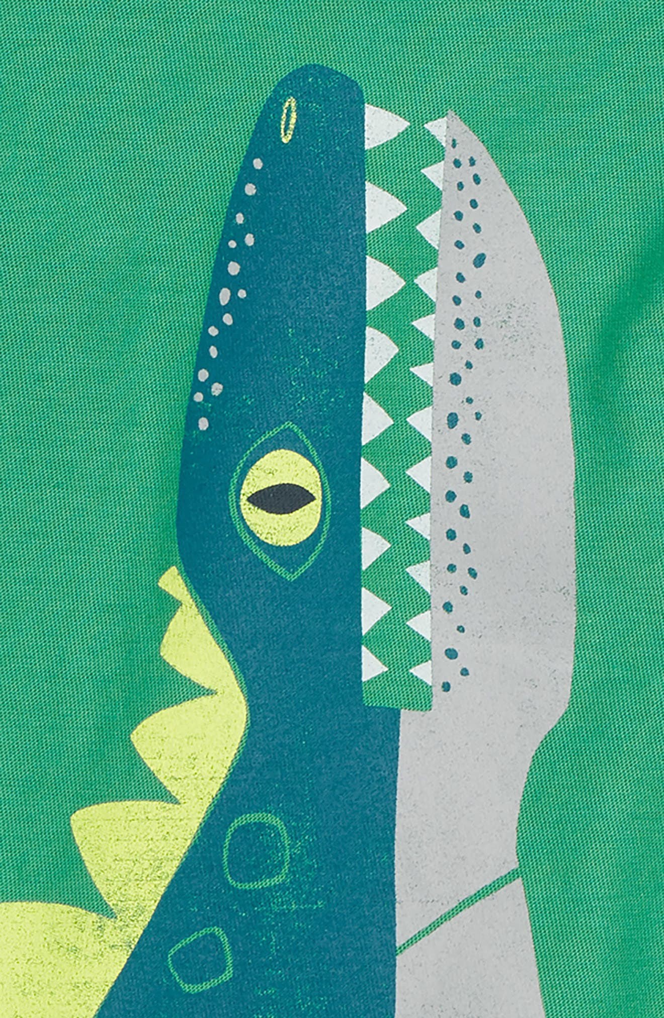 Dino T-Shirt,                             Alternate thumbnail 2, color,                             Spinach