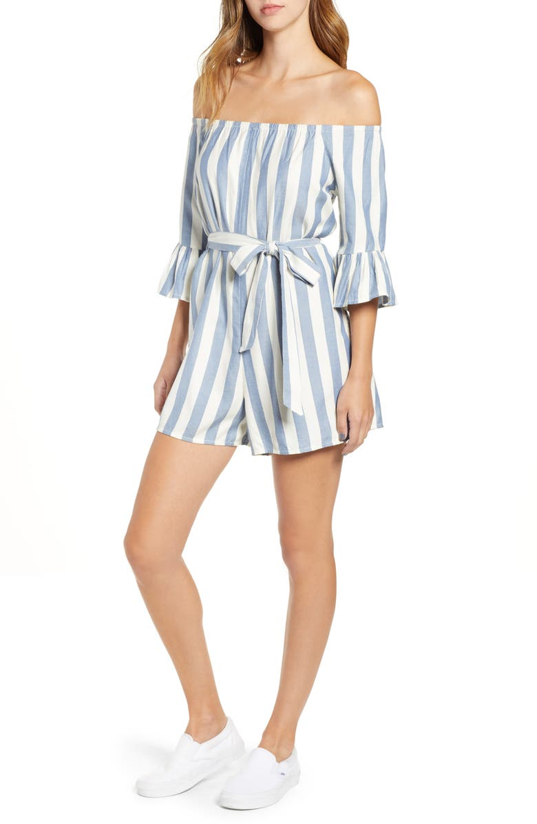 Fun For Now Stripe Romper