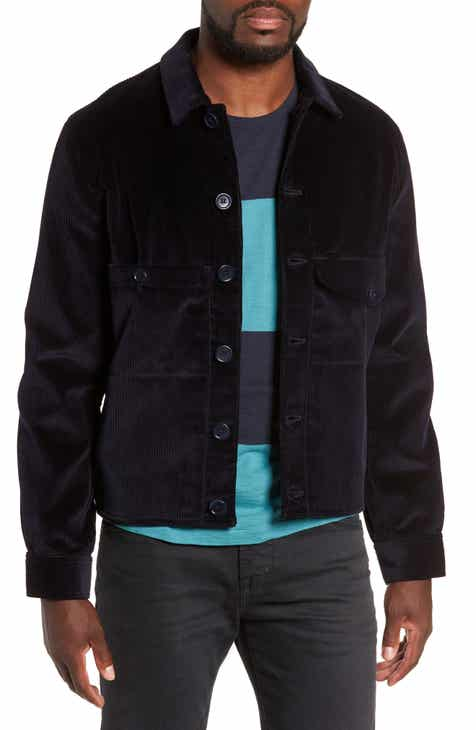 Mens Quilted Shirt Jacket