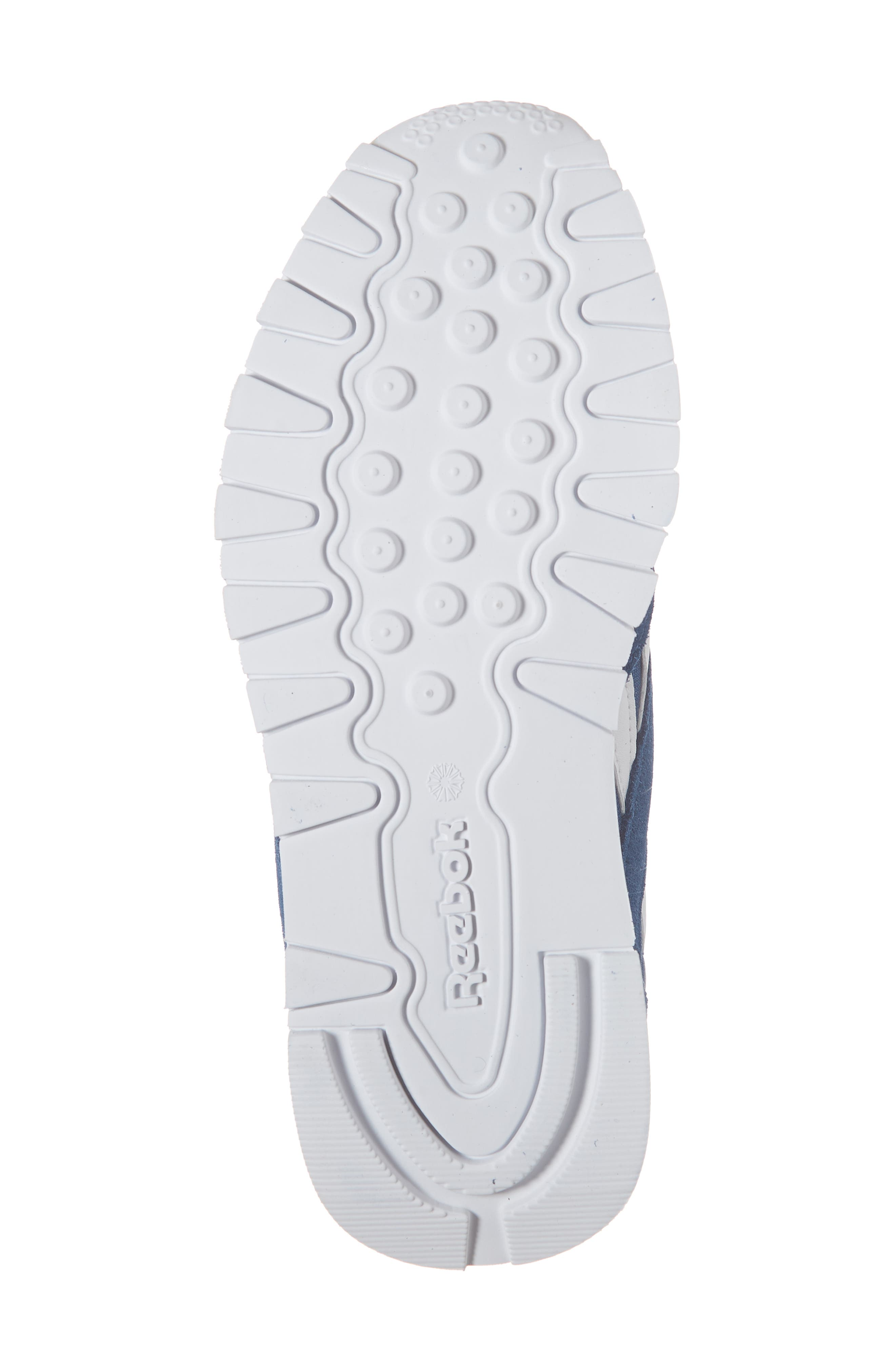 Classic Nylon Sneaker,                             Alternate thumbnail 3, color,                             Bunker Blue/ White