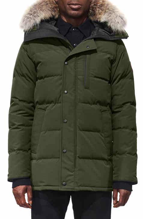39e059d2f58 Canada Goose  Carson  Slim Fit Hooded Packable Parka with Genuine Coyote Fur  Trim