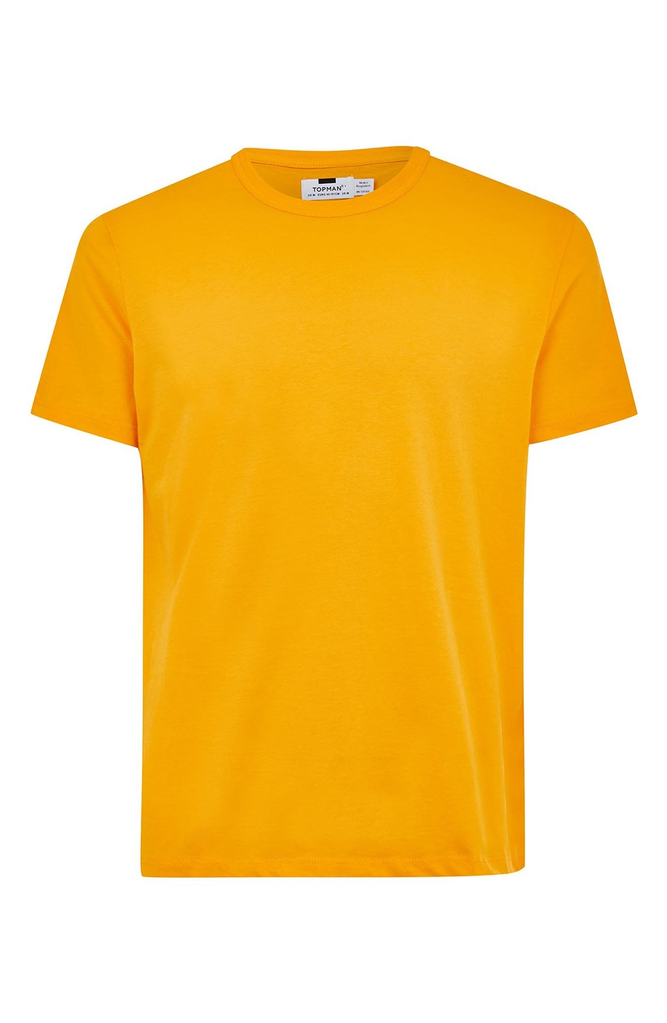 Classic Fit T-Shirt,                             Alternate thumbnail 3, color,                             Yellow