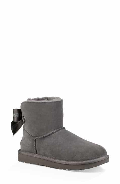 3d954a0d7cc UGG® Customizable Bailey Bow Mini Genuine Shearling Bootie (Women)