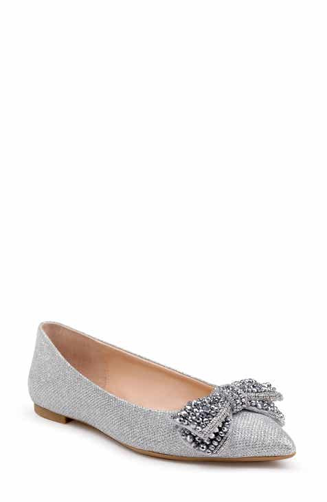 ed2f44ada9fb Jewel Badgley Mischka Zanna Flat (Women)