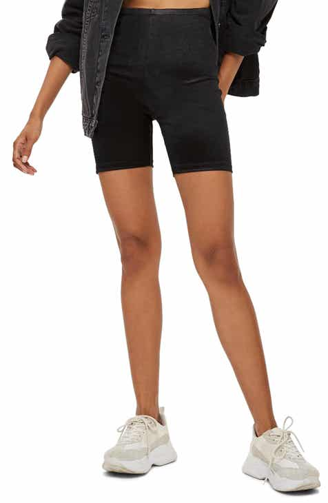 Topshop Disco Cycling Shorts dd8eaad39