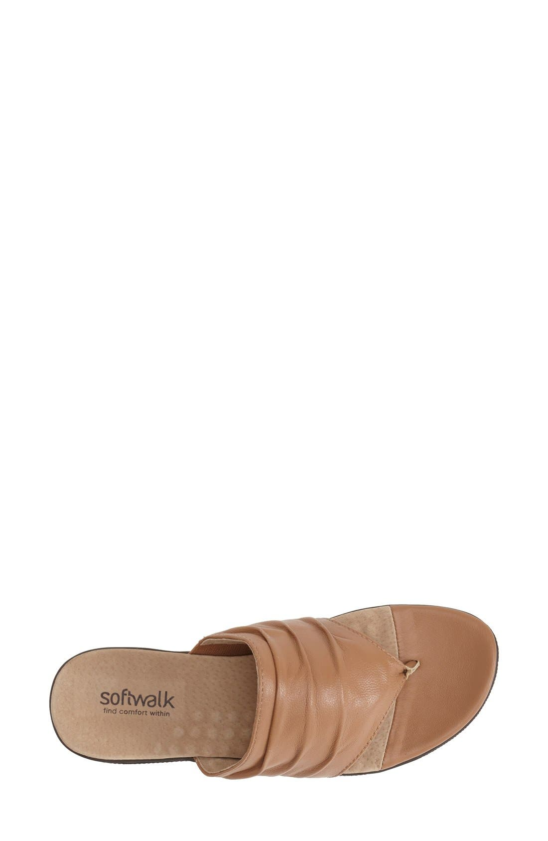 'Toma' Thong Sandal,                             Alternate thumbnail 3, color,                             Tan