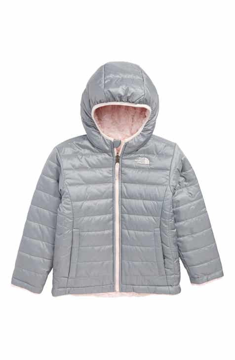 40c4a466adf The North Face Mossbud Reversible Water Repellent Jacket (Toddler Girls    Little Girls)