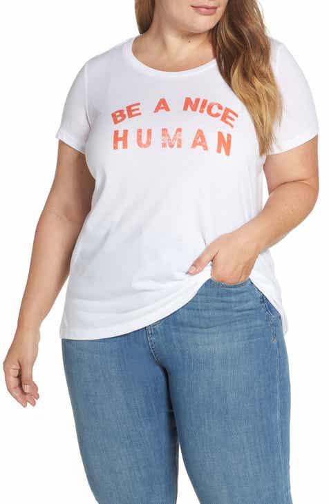 103db13aac0 Sub Urban Riot Be A Nice Human Tee (Plus Size)