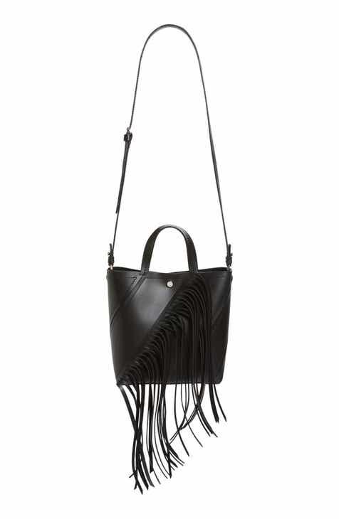 Proenza Schouler Medium Hex Fringe Calfskin Leather Bucket Bag 1 895 00 Product Image