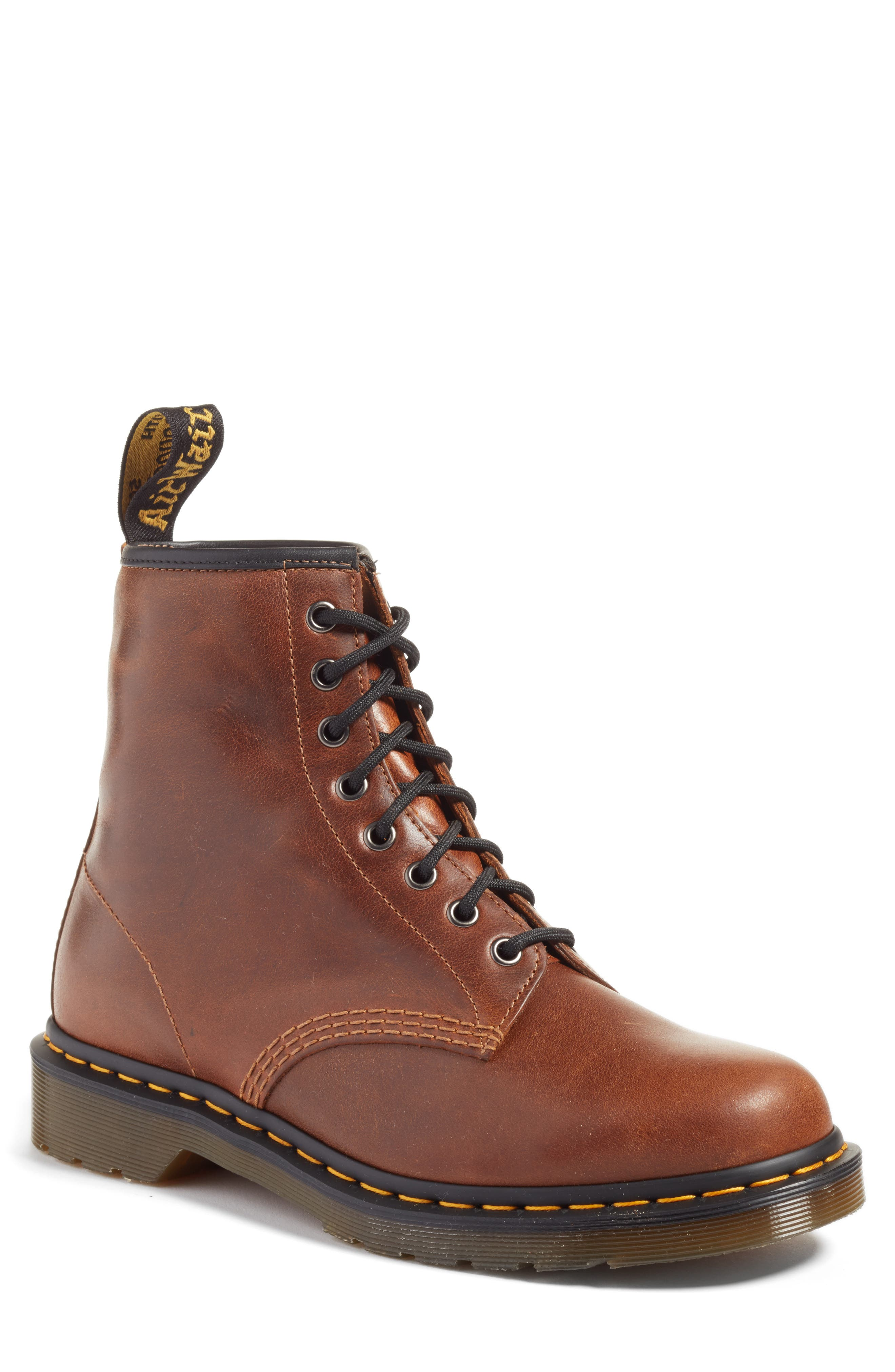 '1460' Boot,                             Main thumbnail 1, color,                             Butterscotch