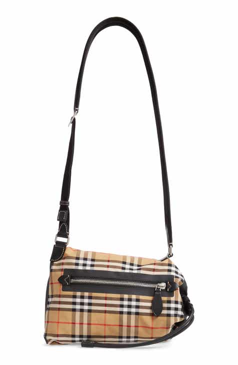 Burberry Small Vintage Check Sailing Duffel Sling Bag 850f5791497b3