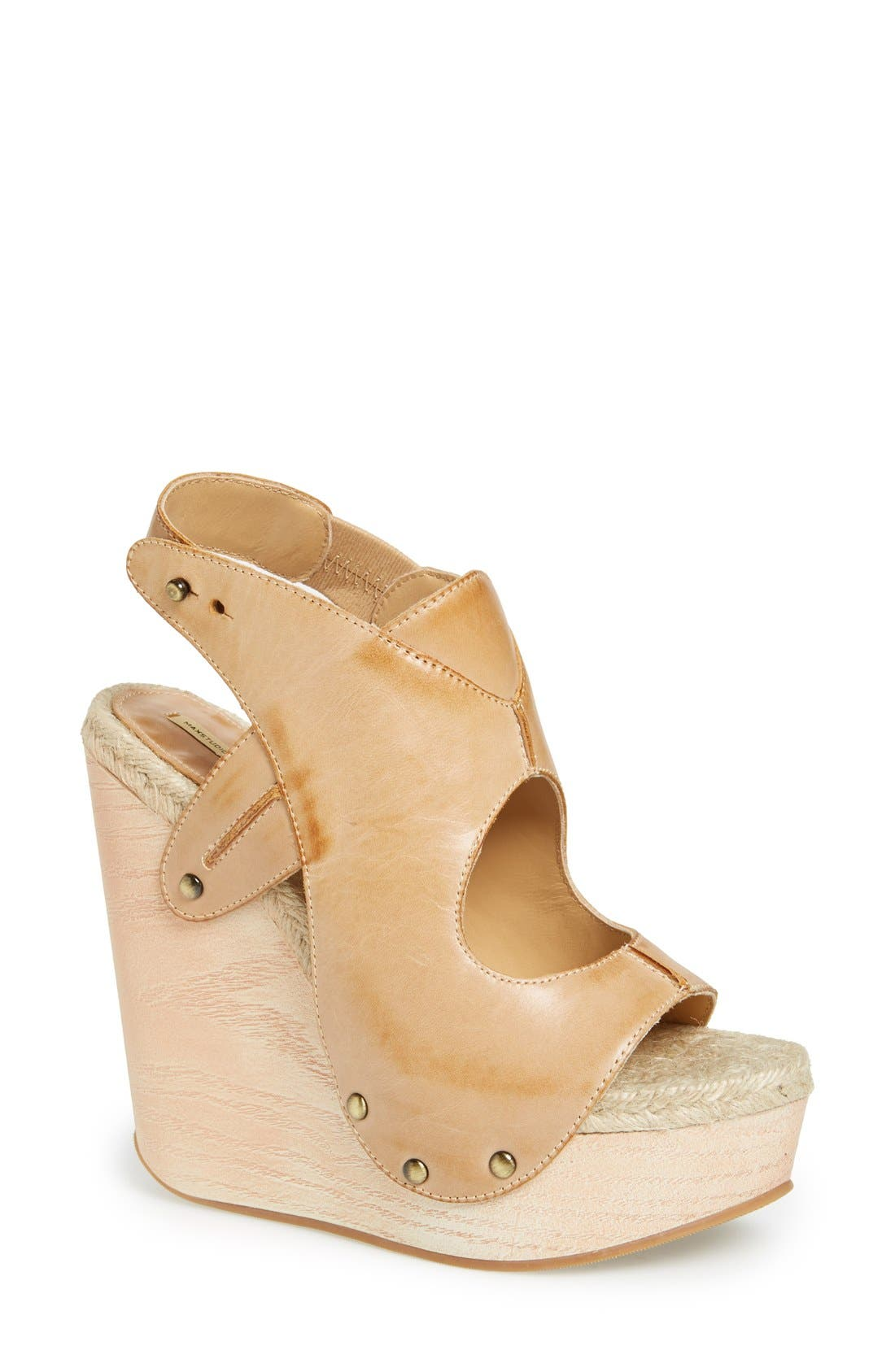Alternate Image 1 Selected - MAXSTUDIO 'Fiore' Platform Wedge Sandal (Women)