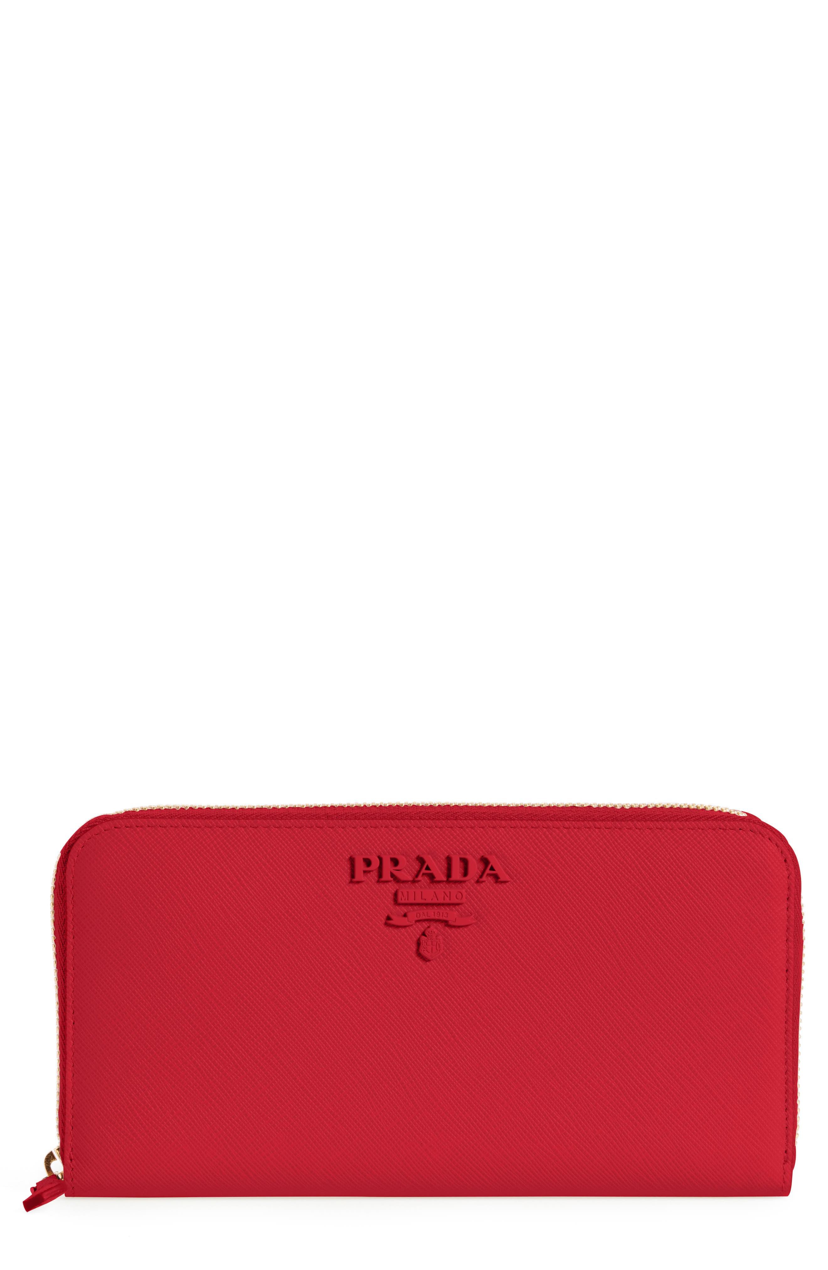 a9e8eb3f2d84 ... where can i buy prada saffiano leather zip around wallet 5469c 93c70