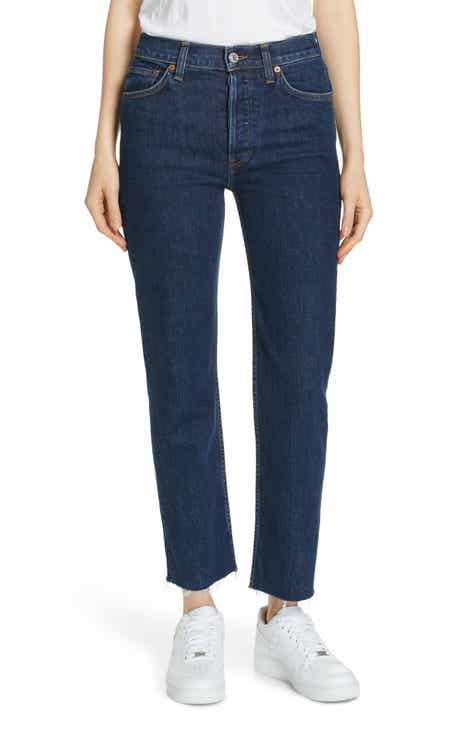 591fdccc5167 Re Done Originals High Waist Stovepipe Jeans